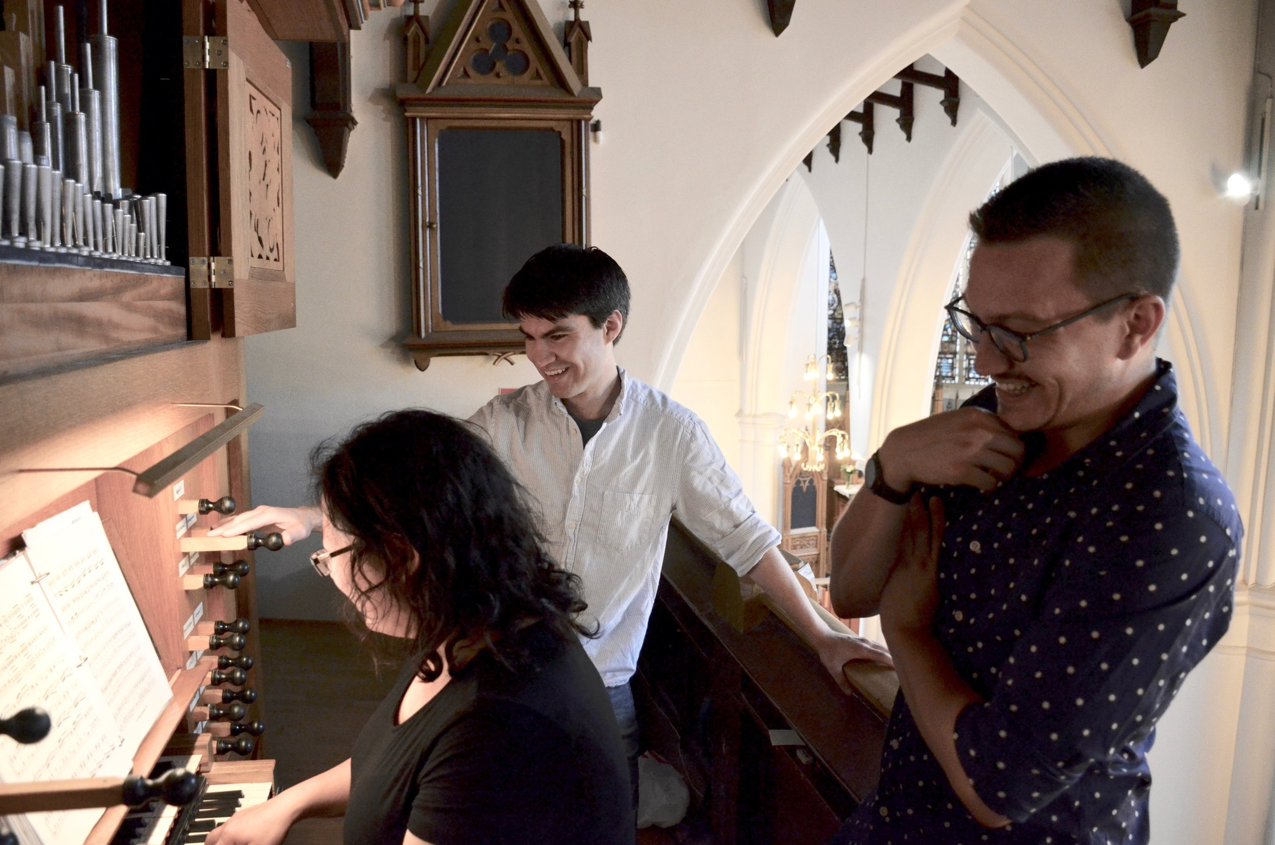 Jennifer Hsiao plays the 1992 Brombaugh organ, Haga Church, Göteborg, Sweden.