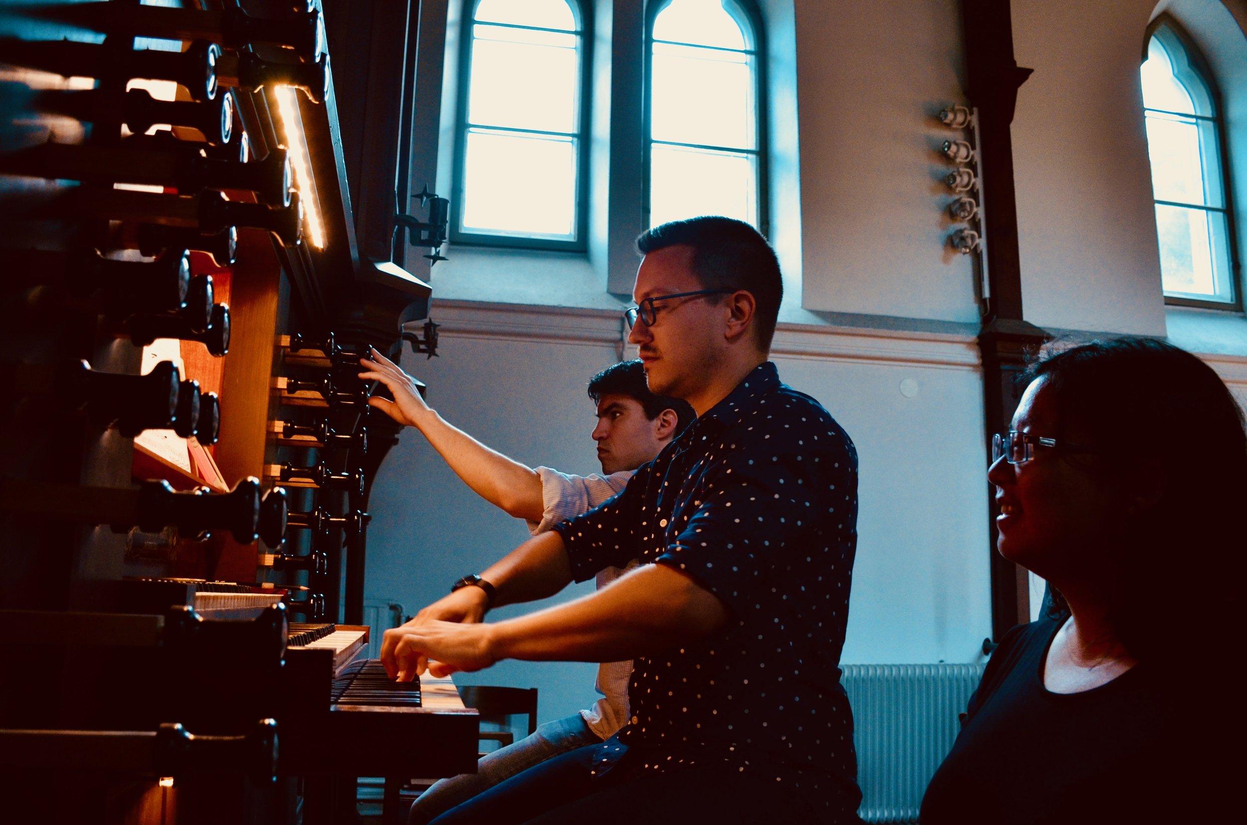 Corey De Tar plays the 1861 Marcussen & Søn organ in Haga Church, Göteborg, Sweden.