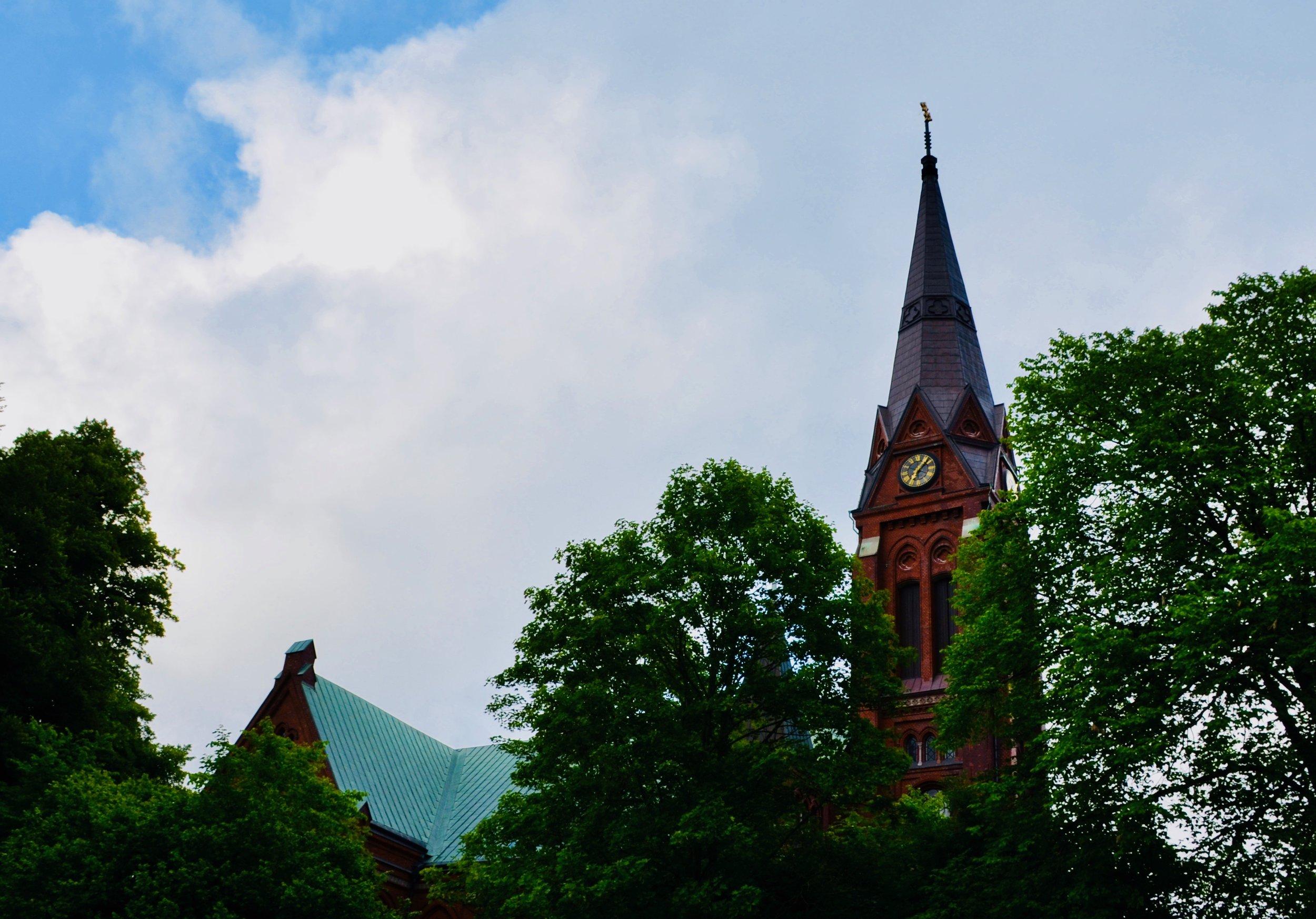 Örgryte New Church, Göteborg, Sweden.