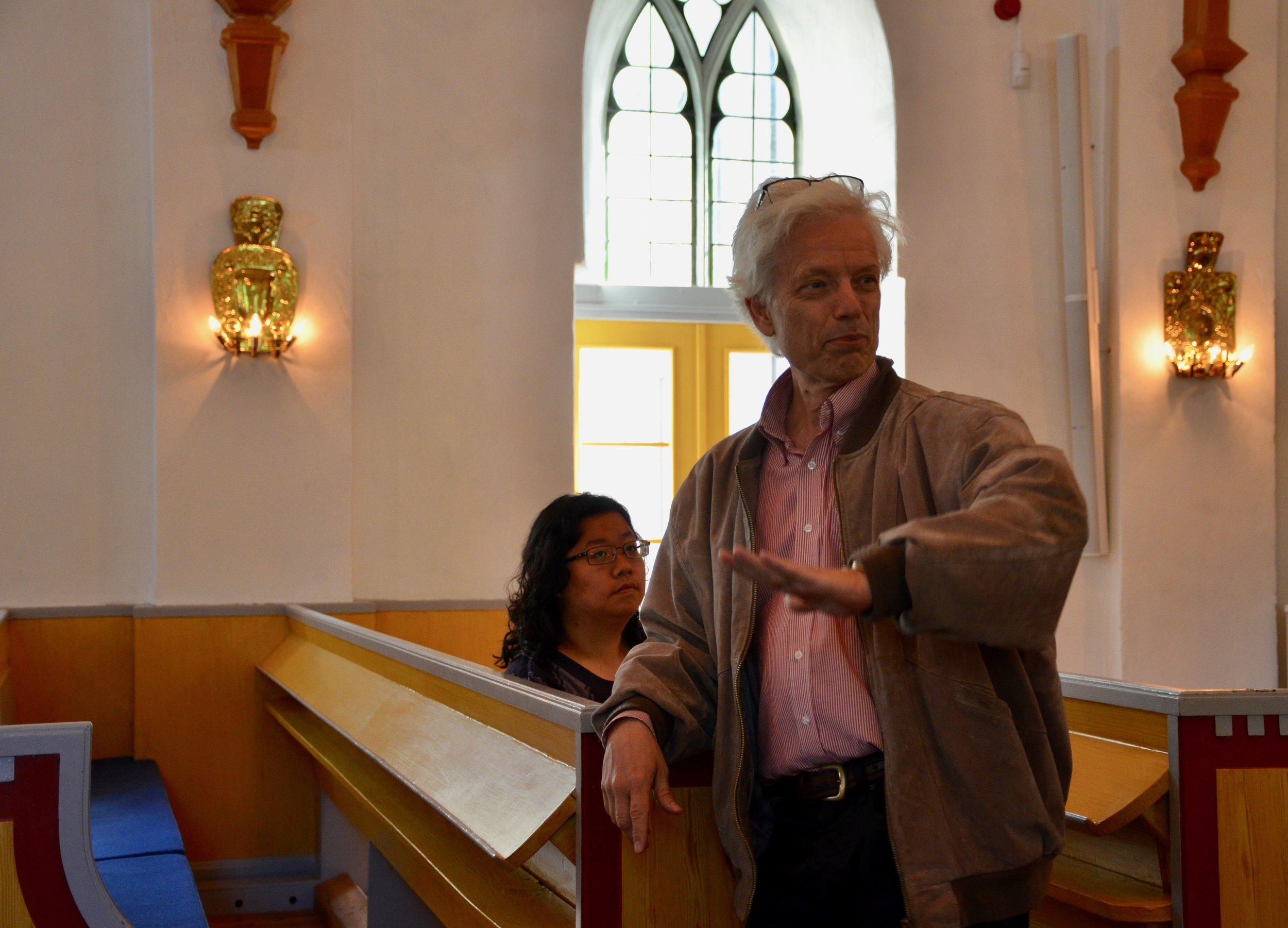 Hans Davidsson introduces the 1783 Schiörlin organ in Jonsered, Sweden.