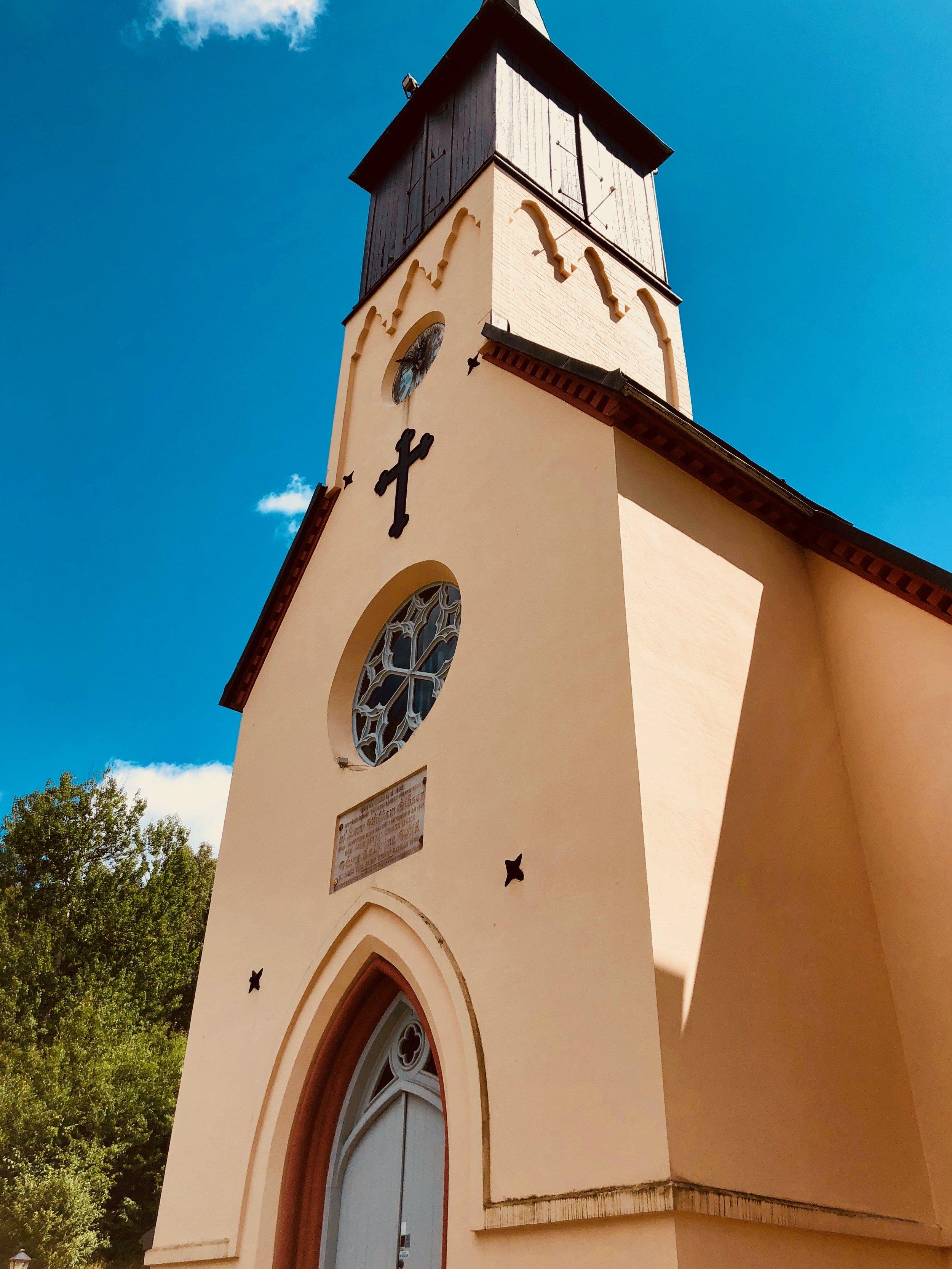 The village church, Jonsered, Sweden.