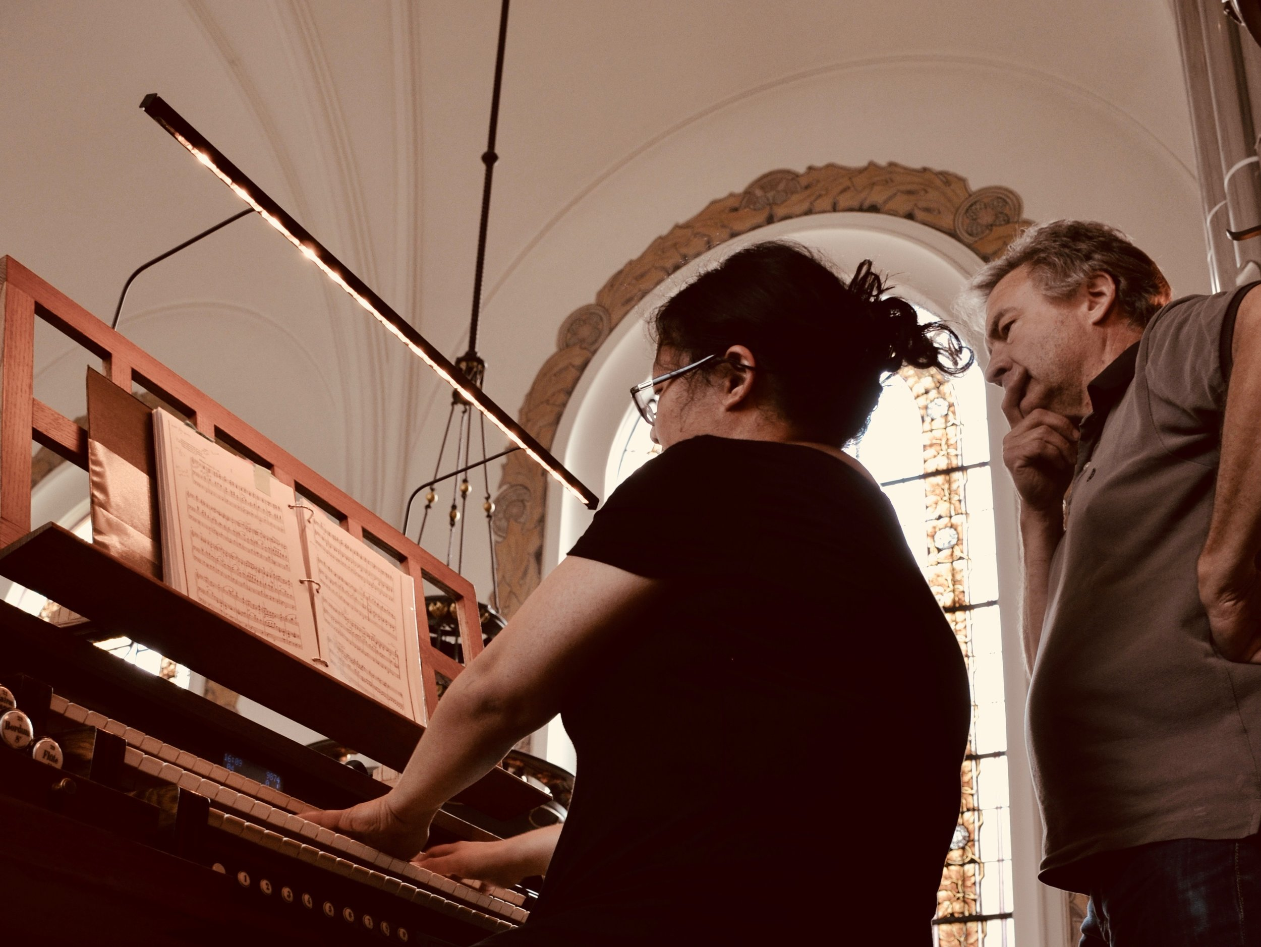 Jennifer Hsiao plays the 1907 Åckerman & Lund organ in S:t Johannes kyrka, Malmö, Sweden.
