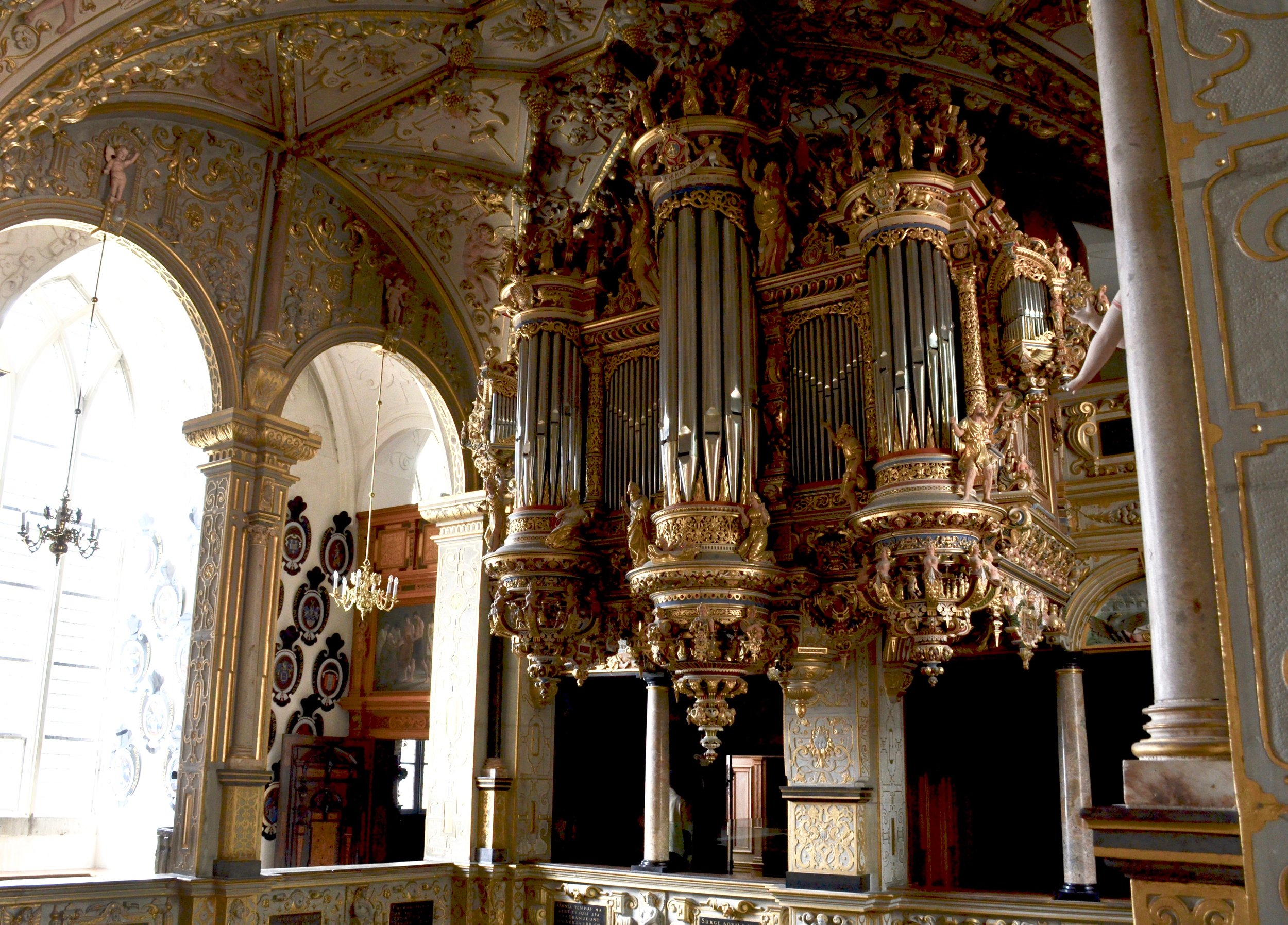 Chapel, Frederiksborg Castle, Hillerød, Denmark.