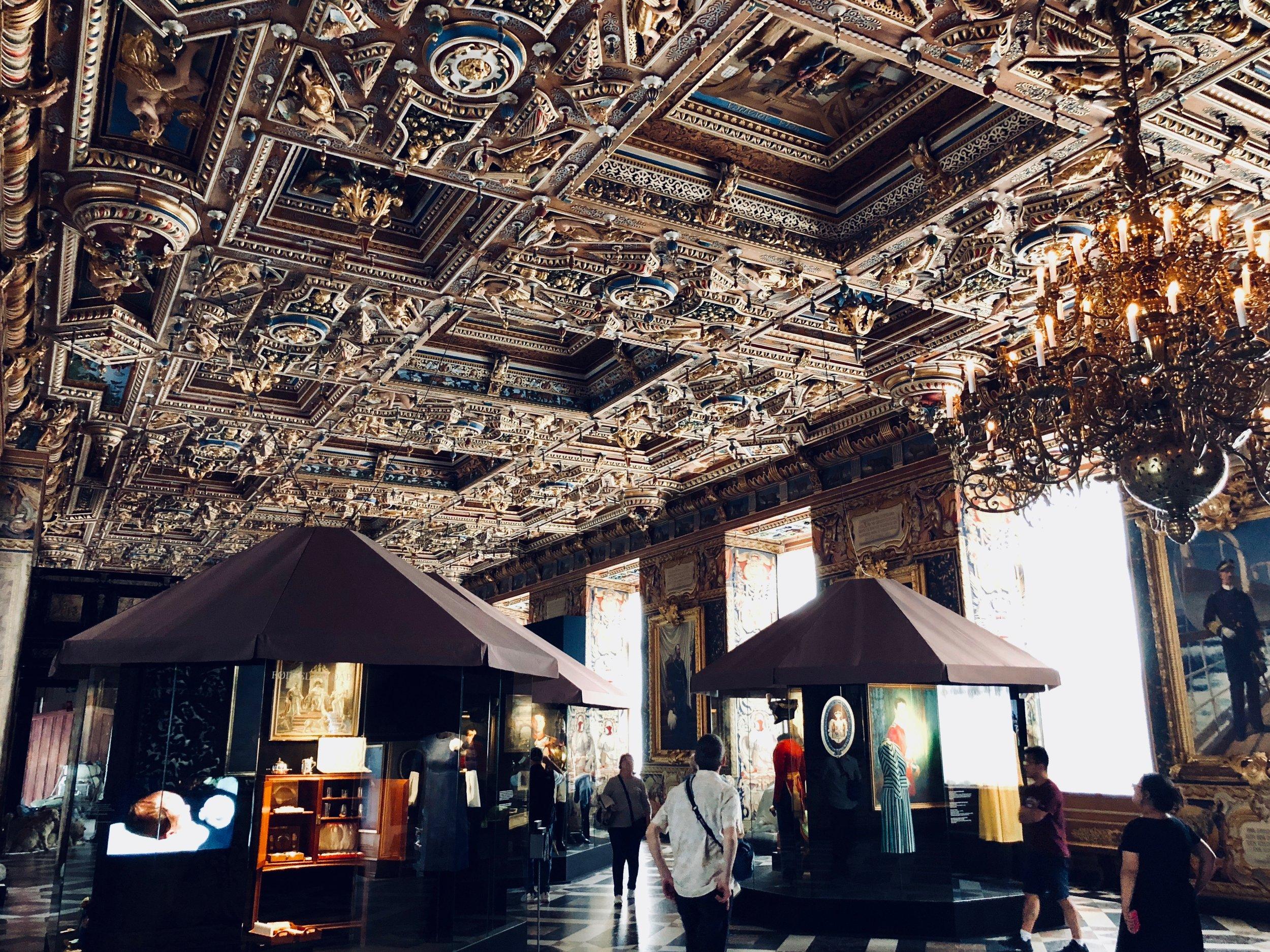 The Great Hall, Frederiksborg Castle, Hillerød, Denmark.