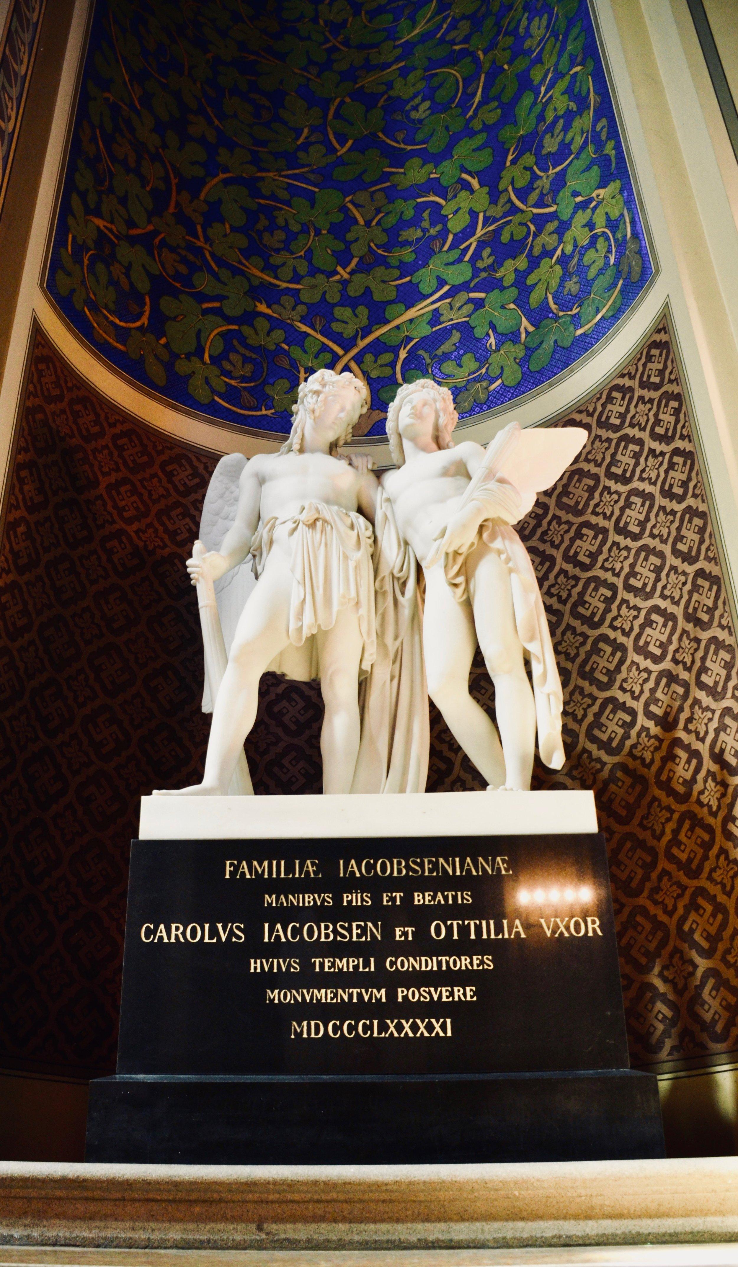Statuary detail, Jesuskirke, Copenhagen.