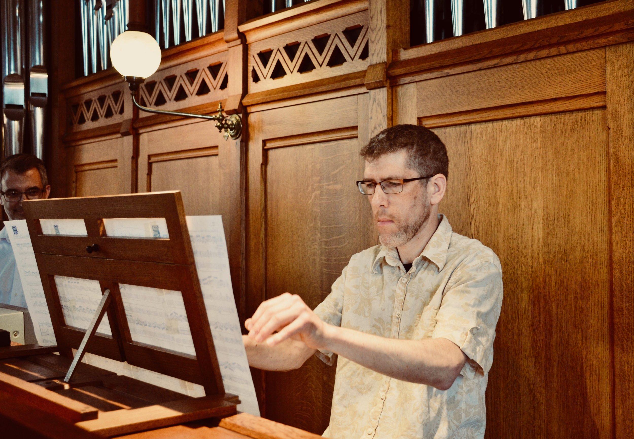 Chris Porter plays the 1890 Cavaillé-Coll organ, Jesuskirke, Copenhagen.