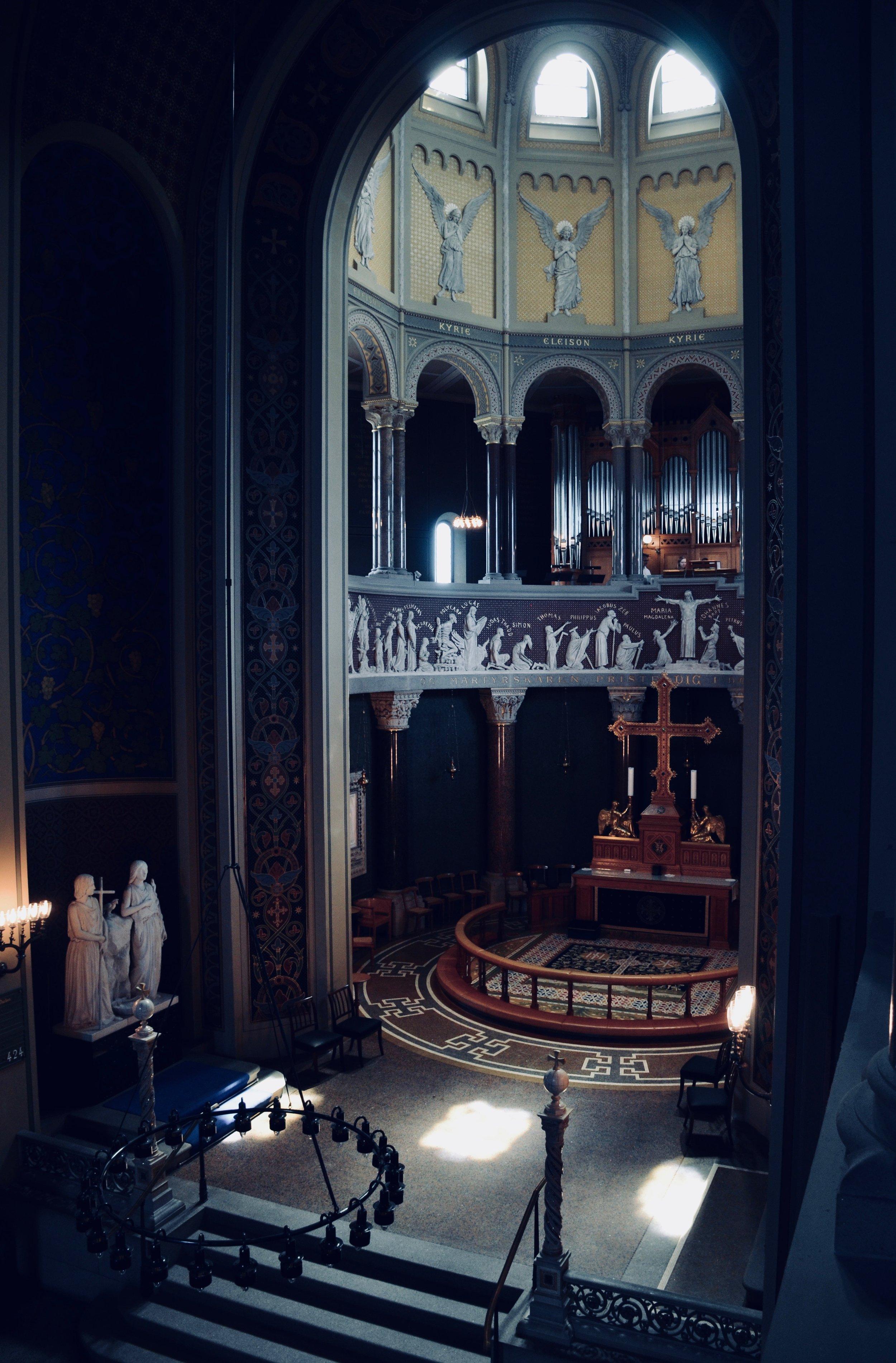 1890 Cavaillé-Coll organ, Jesuskirke, Copenhagen.