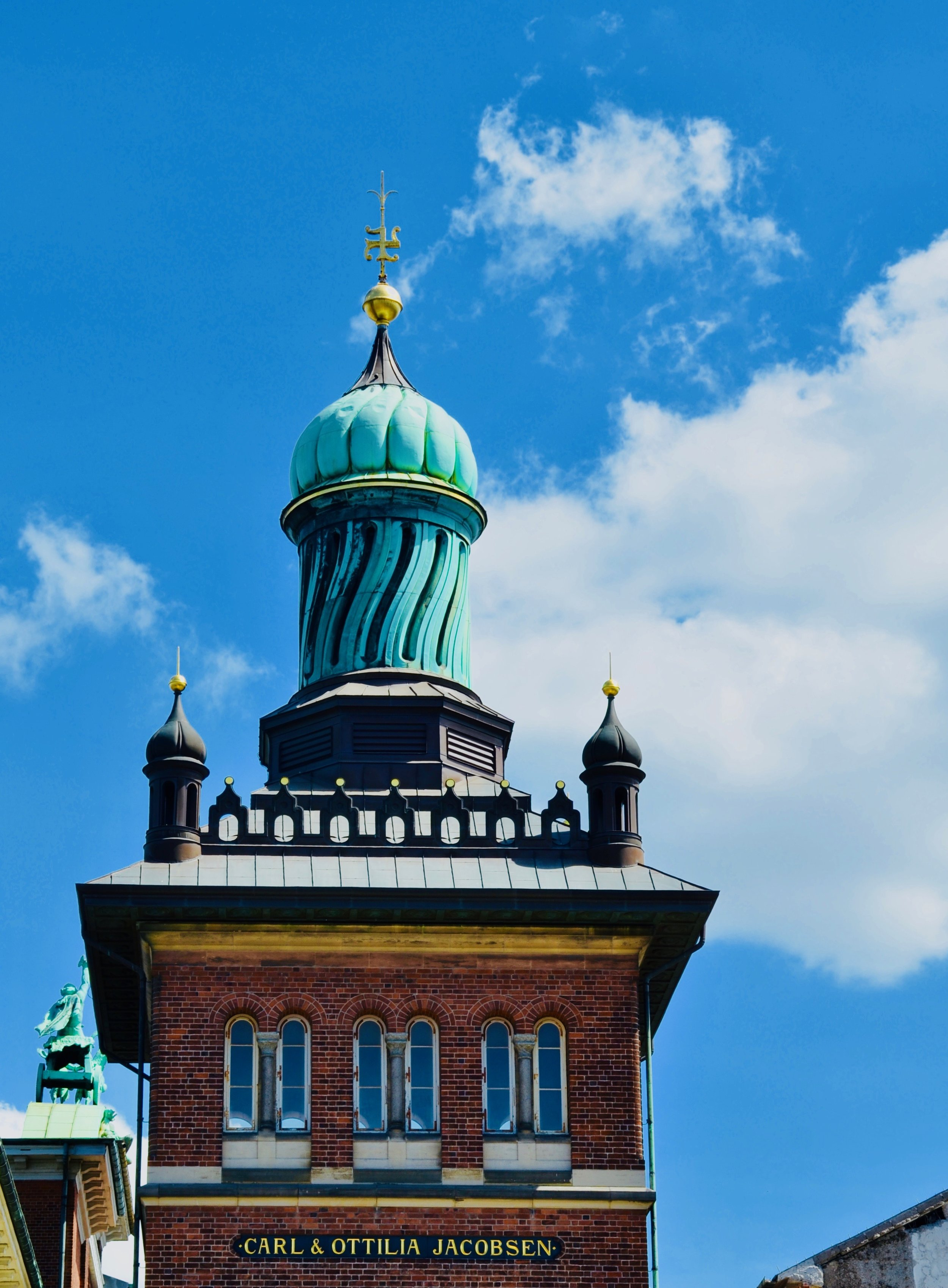 The Carlsberg tower, Copenhagen.