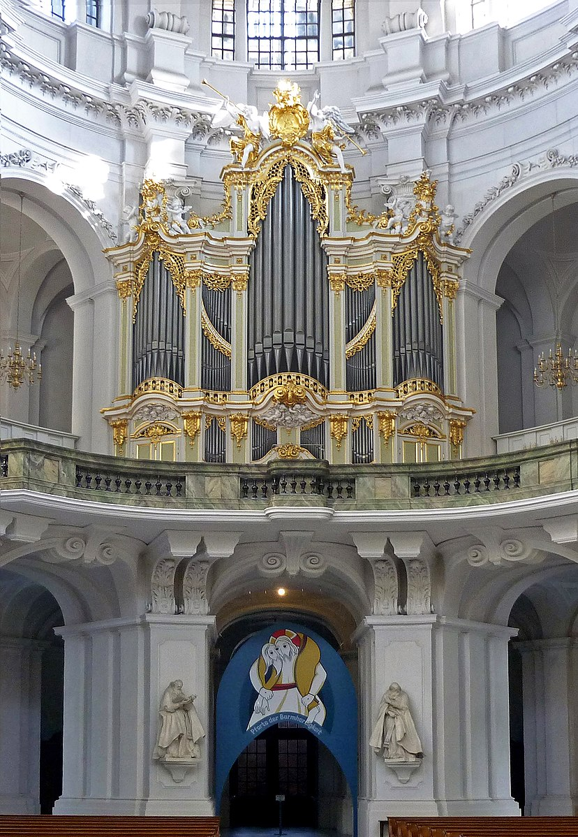 1755 Silbermann, Dresden Cathedral