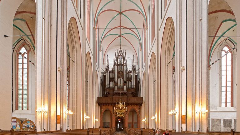 1871 Ladegast, Schwerin Cathedral