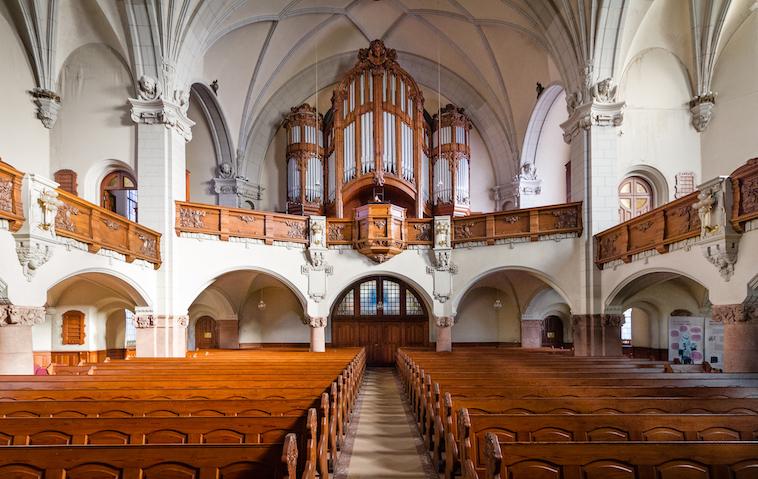 1904 Sauer, Michaeliskirche, Leipzig