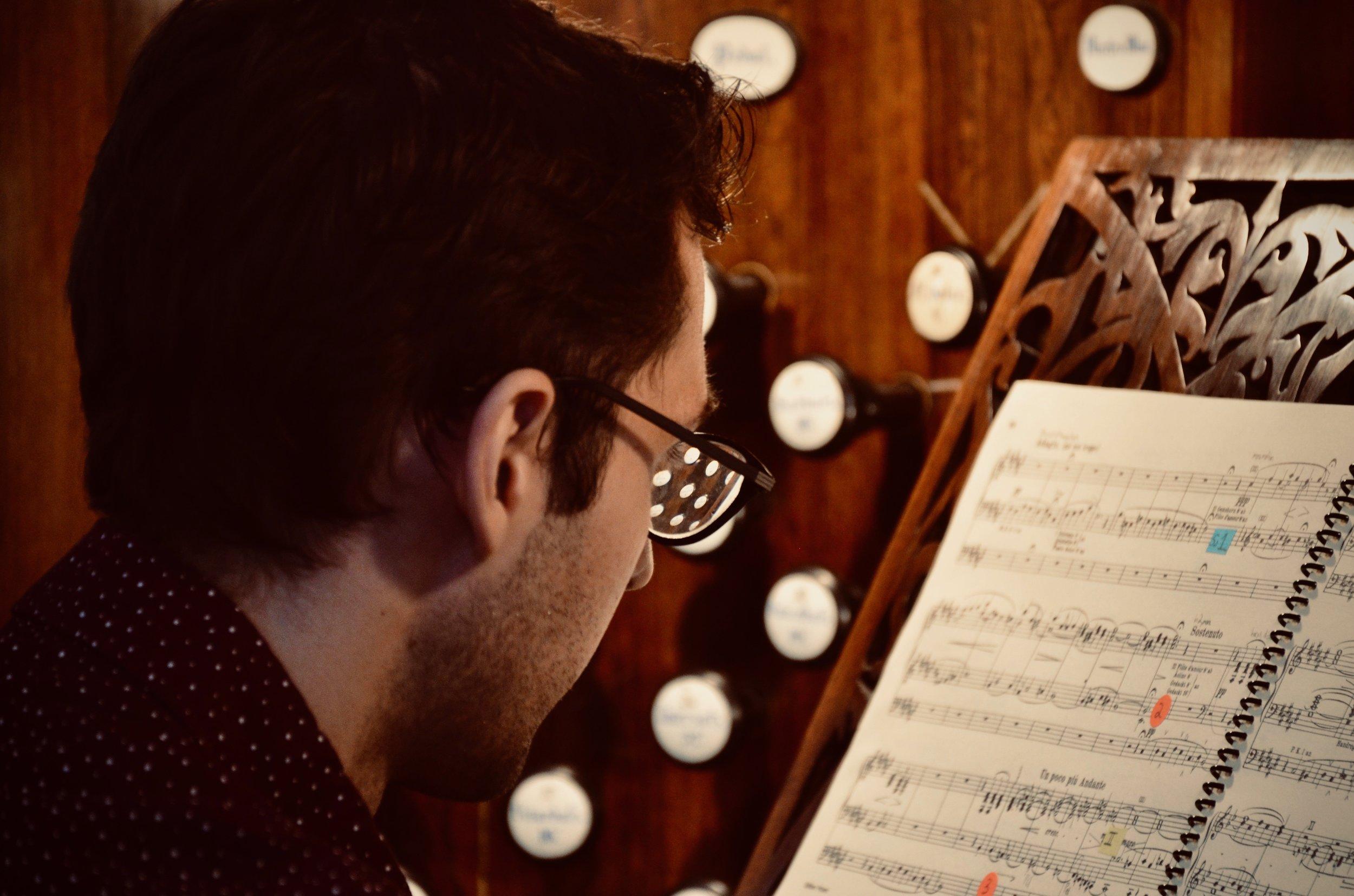 "Nick Capozzoli plays Liszt ""Ad nos"" at 1871 Ladegast Organ, Schwerin Dom. Boston Organ Studio."