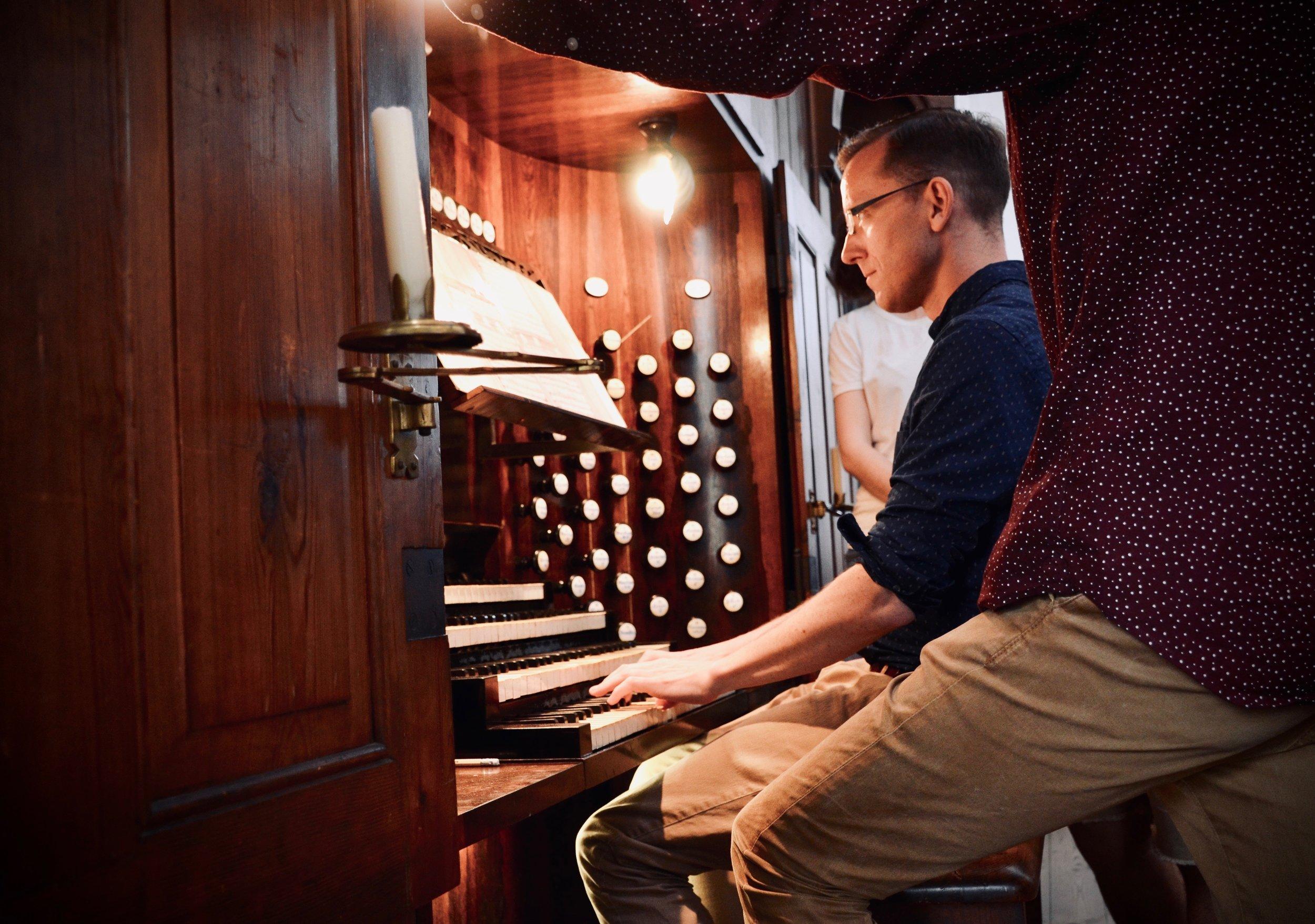 Christian Lane plays Mendelssohn, 1871 Ladegast Organ, Schwerin Dom. Boston Organ Studio.