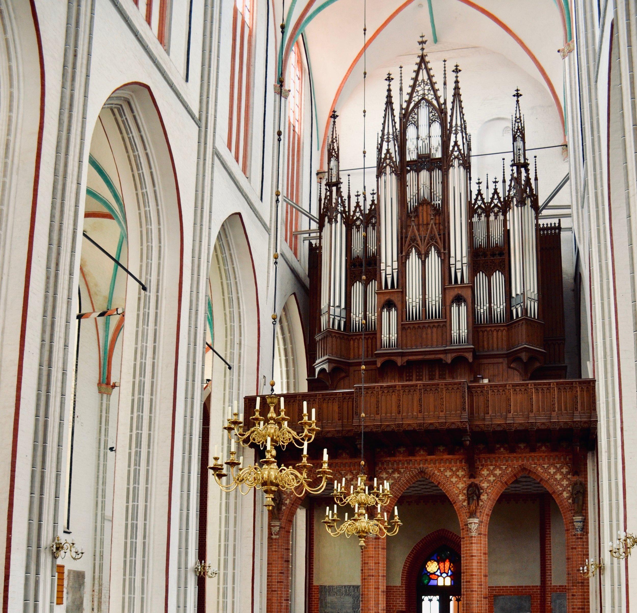1871 Ladegast Organ, Schwerin Dom. Boston Organ Studio.