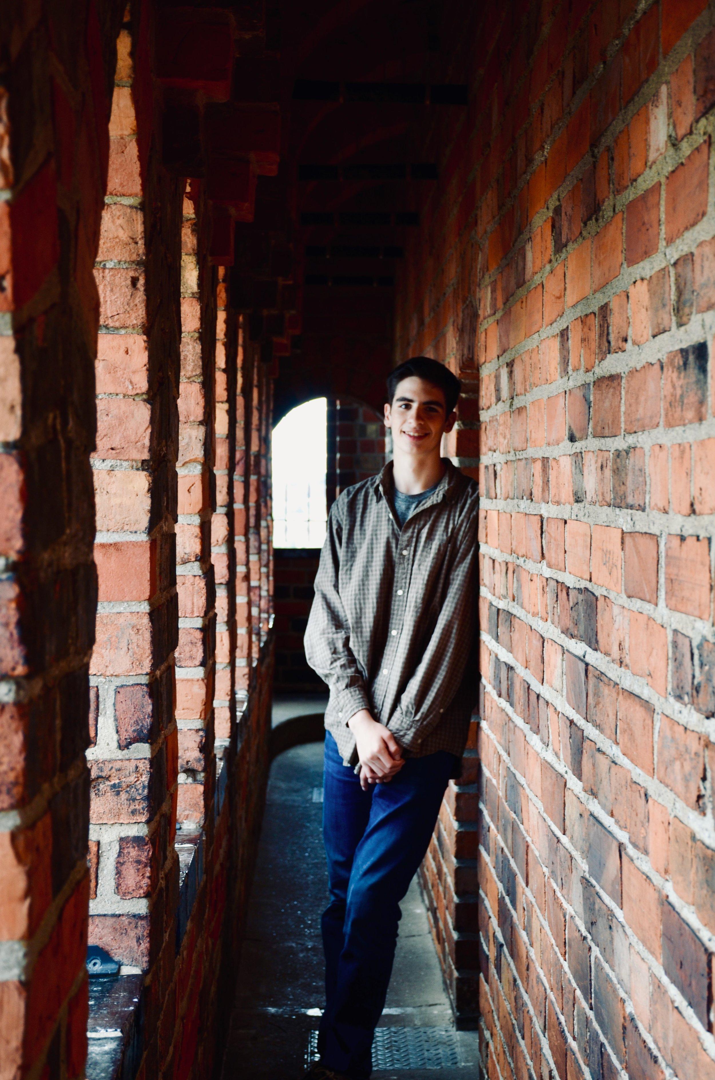 Alexander Marin at Schwerin Dom.