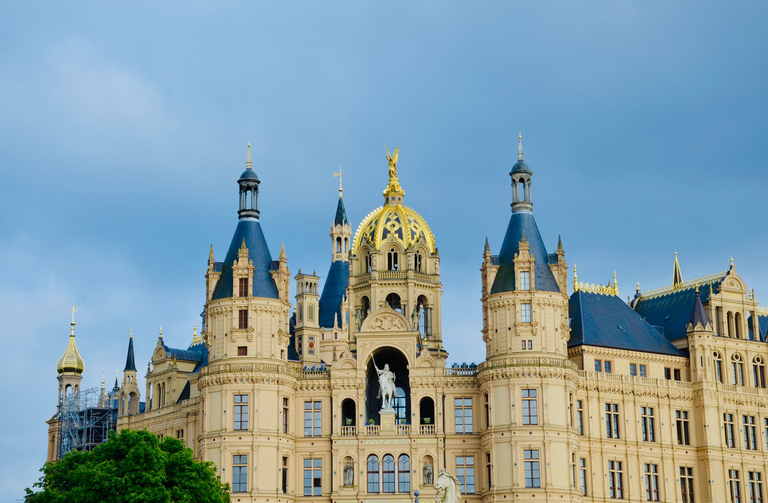 Schwerin Castle.