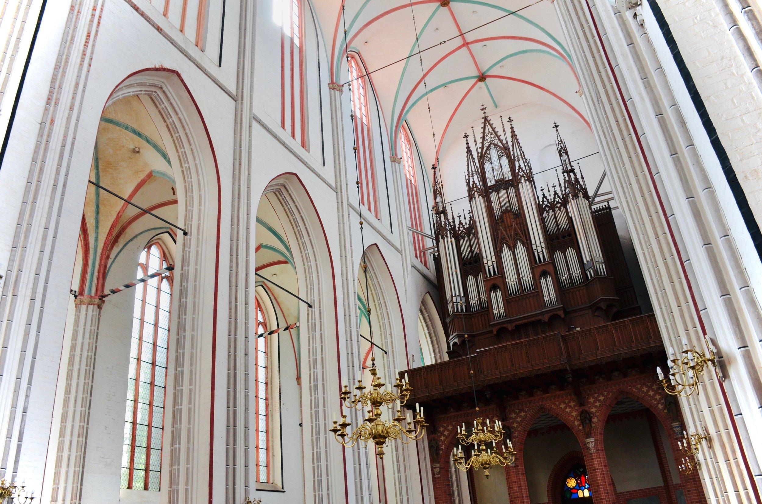 1871 Ladegast Organ, Schwerin Cathedral