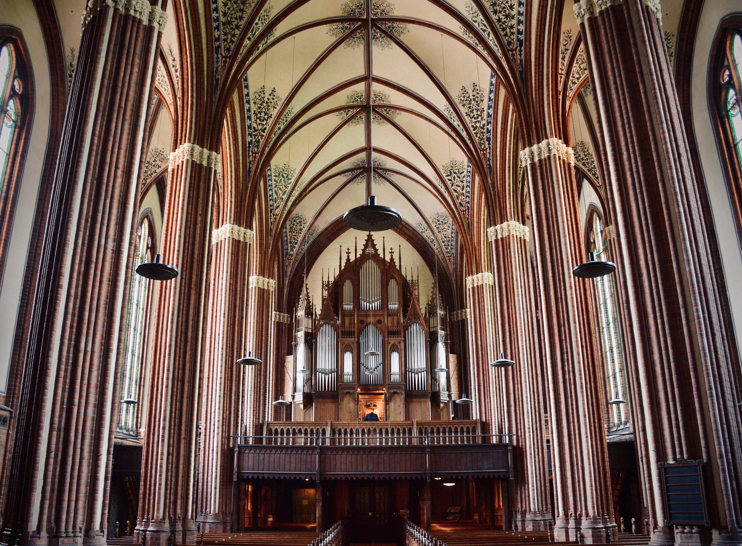 1869 Friese Organ, Paulskirche, Schwerin