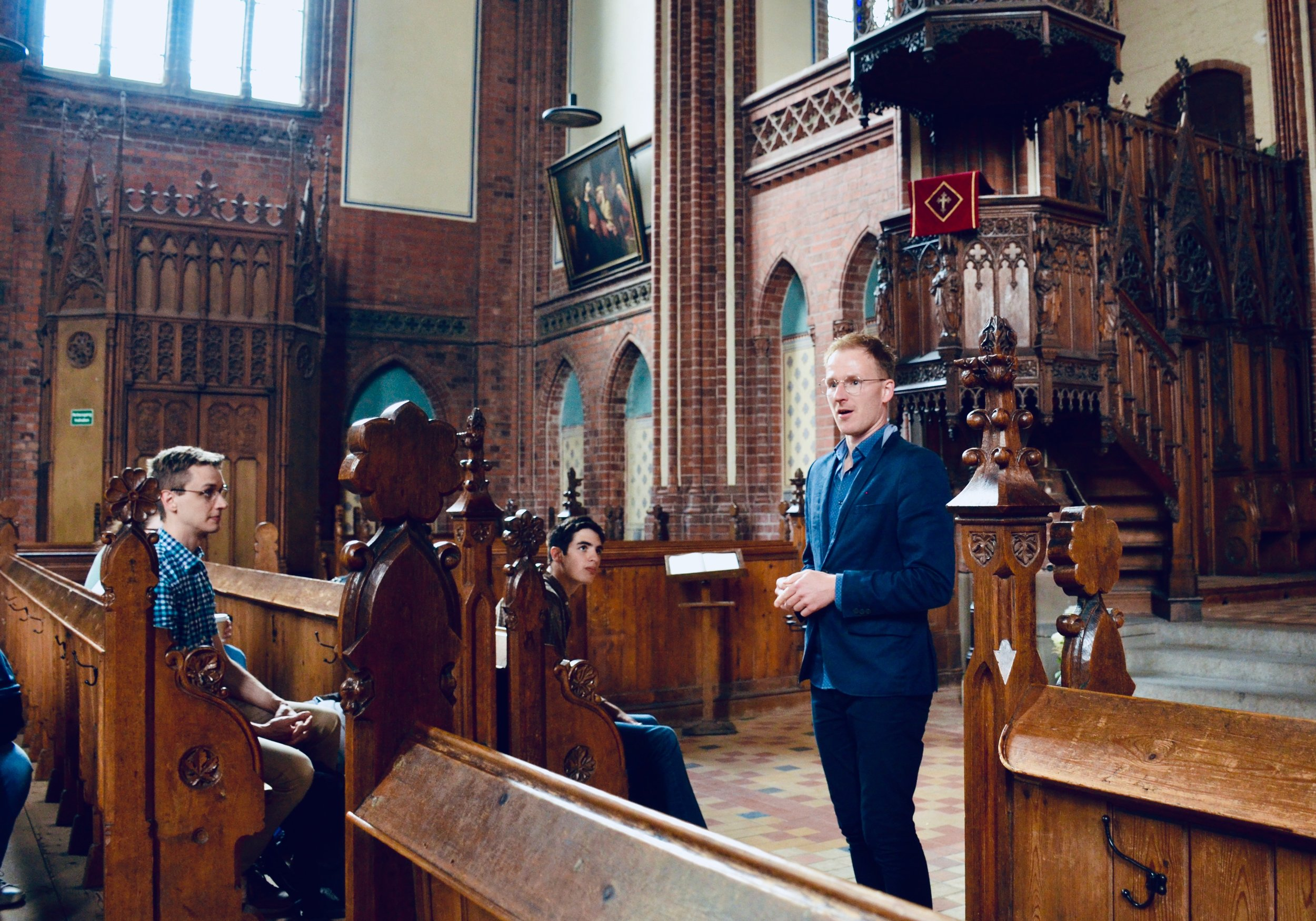 Paulskirche organist Christian Domke introduces us to the 1869 Friese organ.