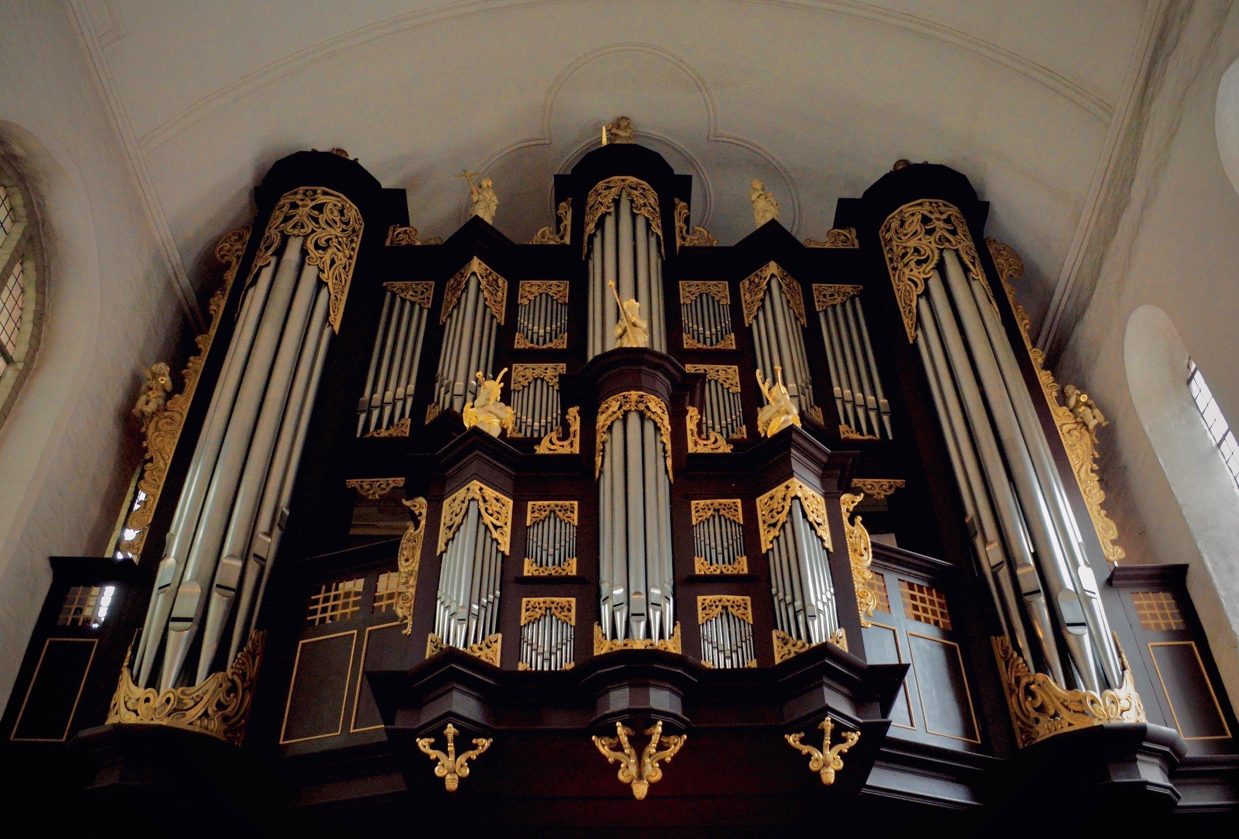 Schnitger organ, Stade.