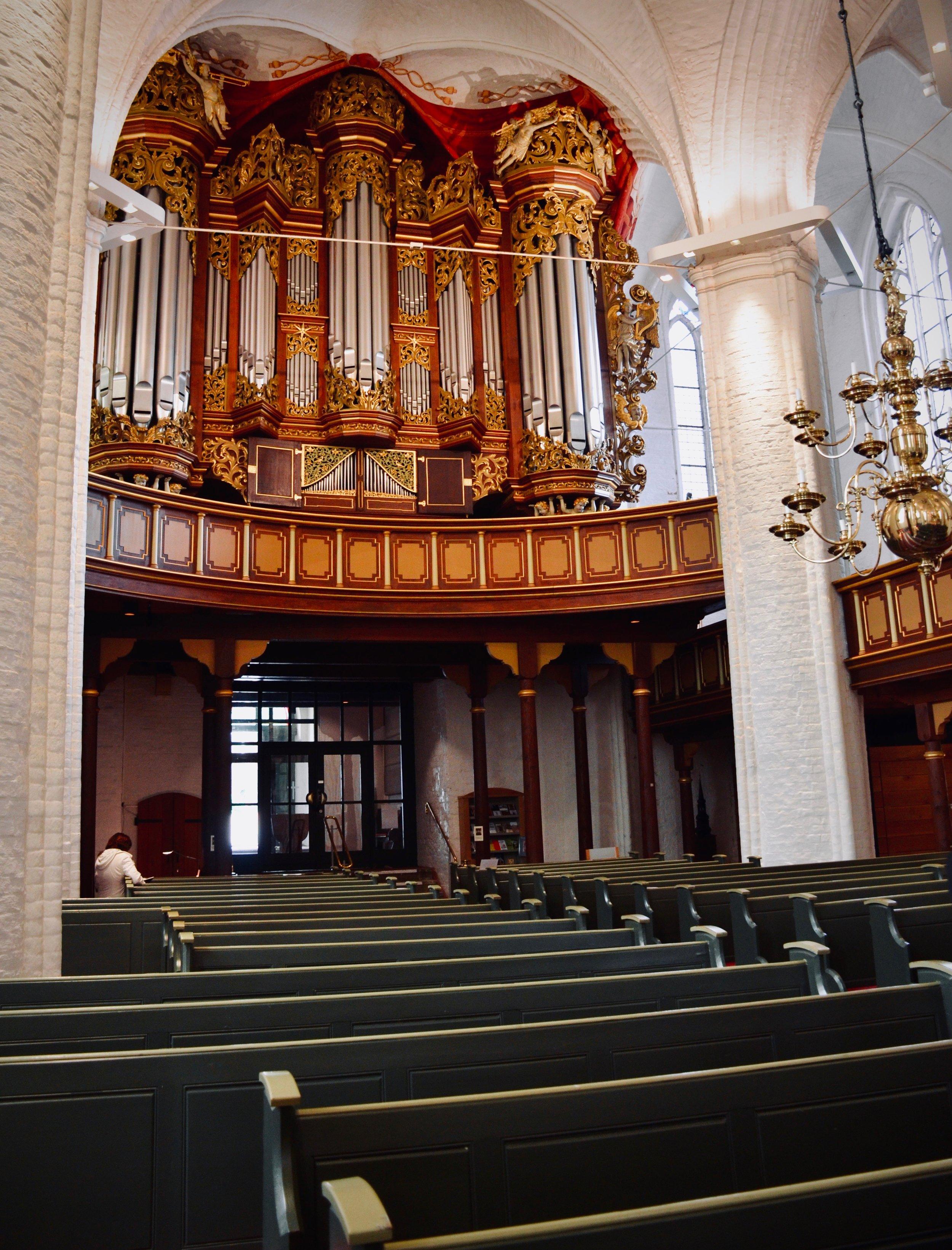 1736 Bielfeldt organ, Stade.