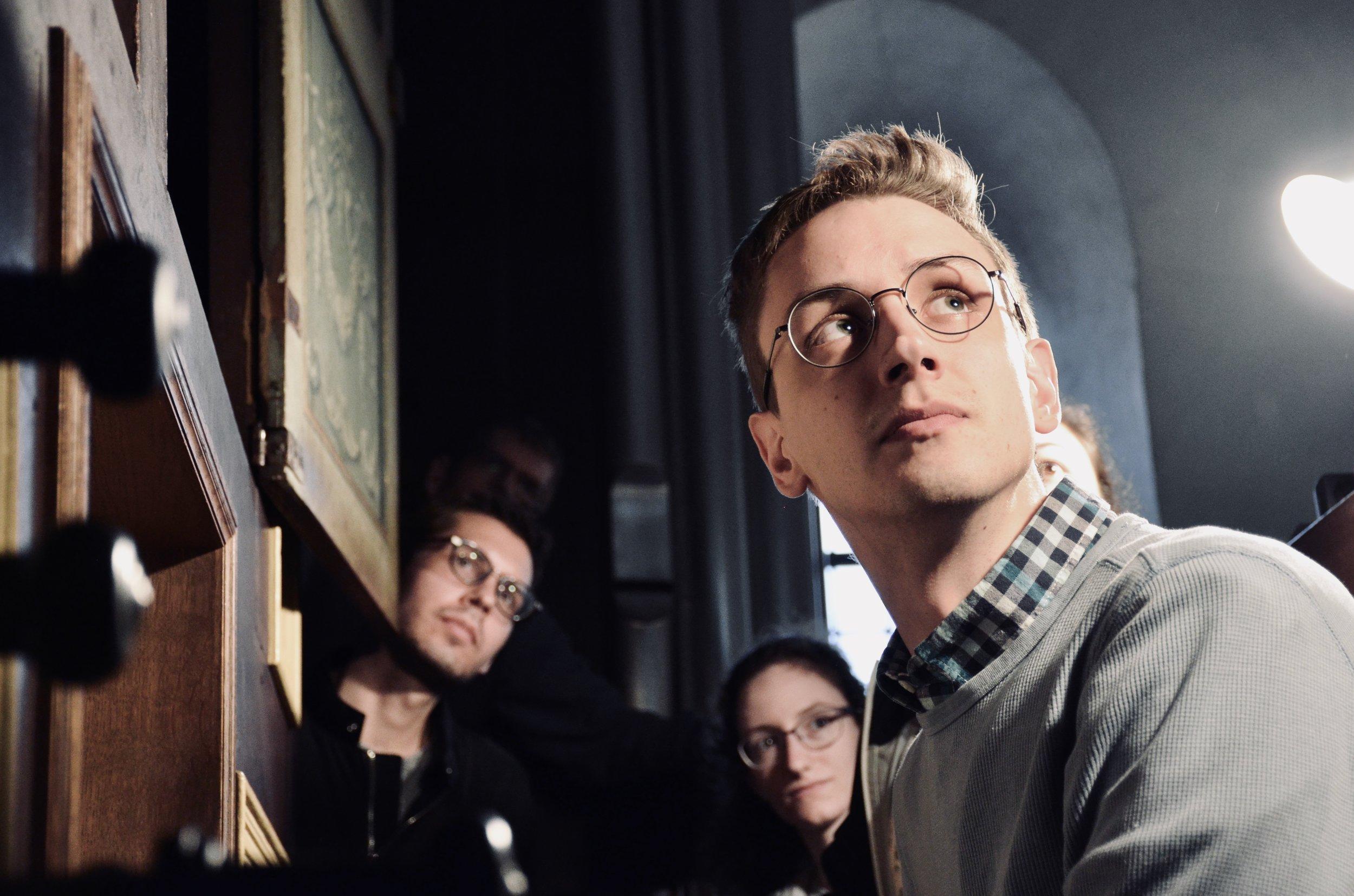 Alex Ross performs Buxtehude in masterclass with Prof. Martin Böcker.