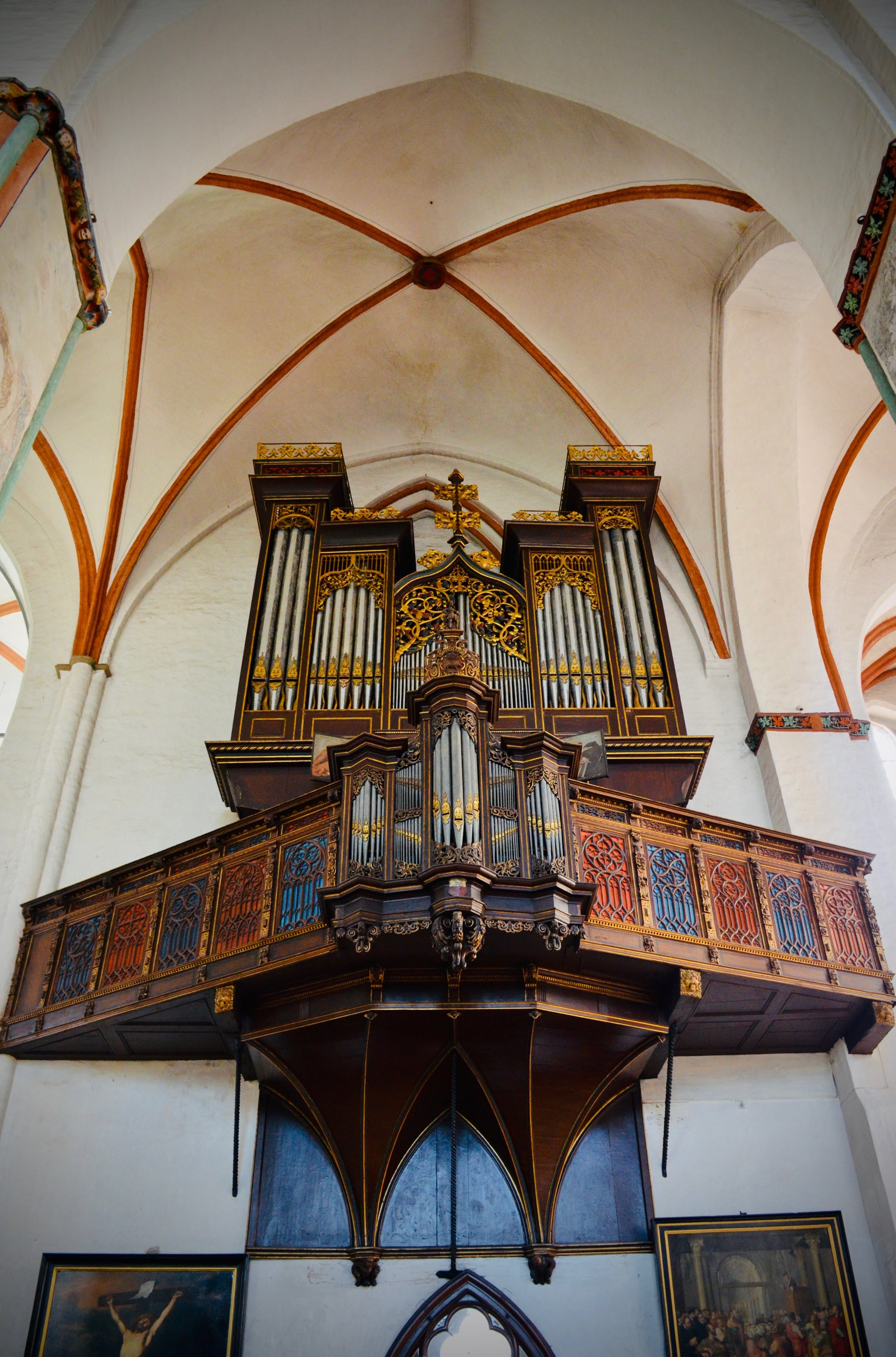 1637 Stellwagen Organ, St. Jakobi, Lübeck.