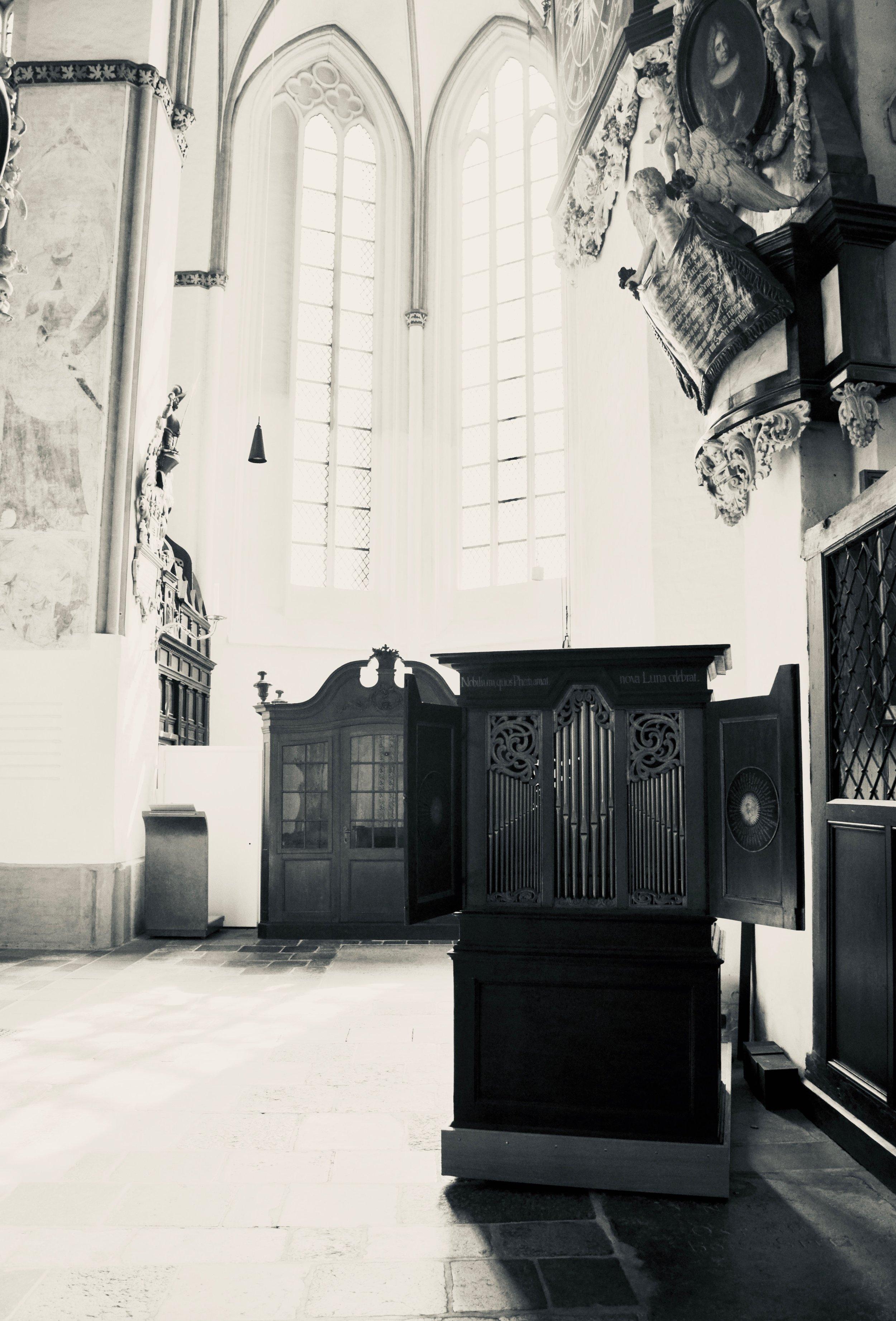 1673 Richborn organ, St. Jakobi, Lübeck.