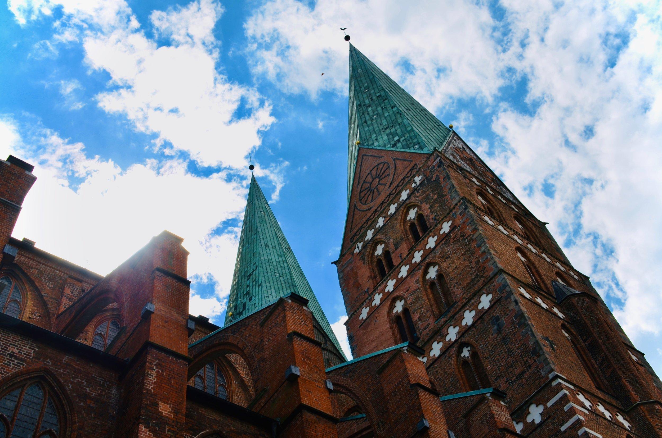 Marienkirche, Lübeck.