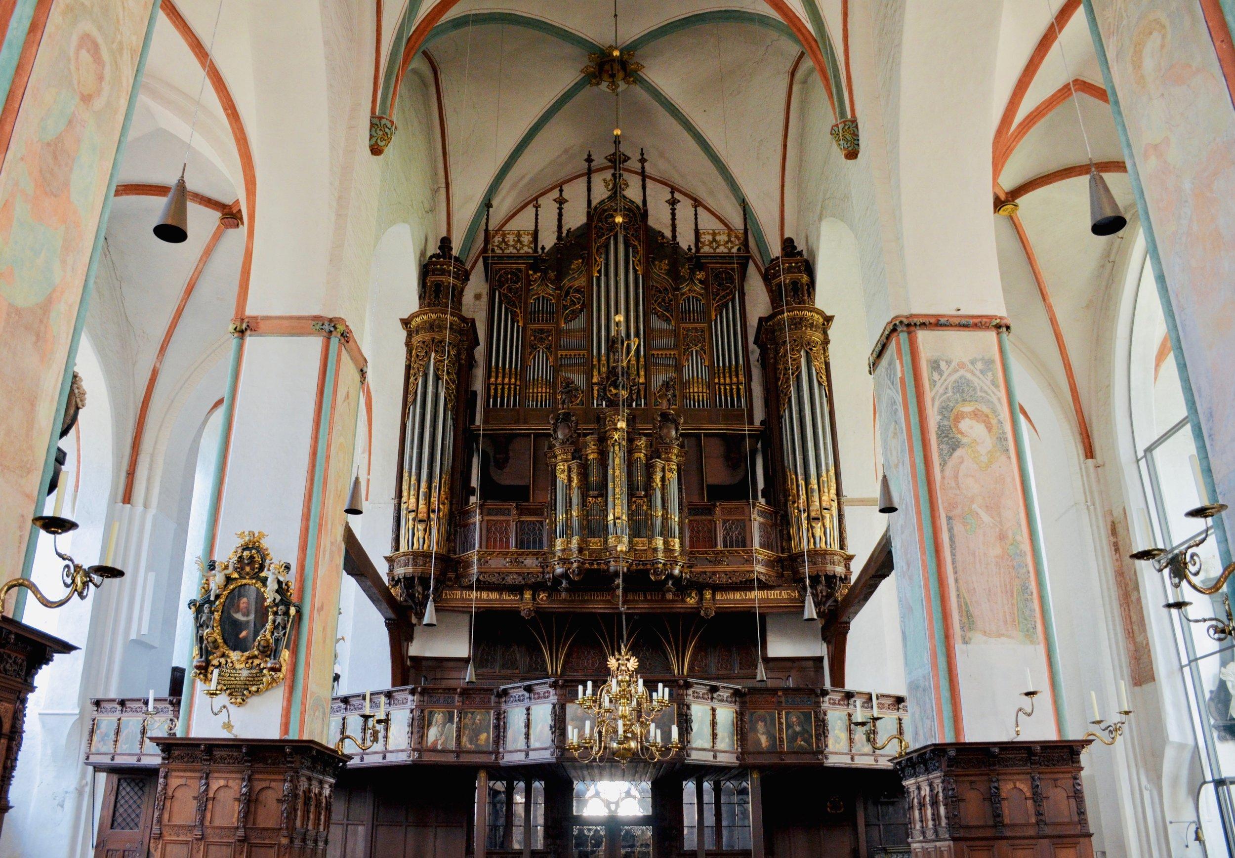 The West Organ, St. Jakobi, Lübeck.