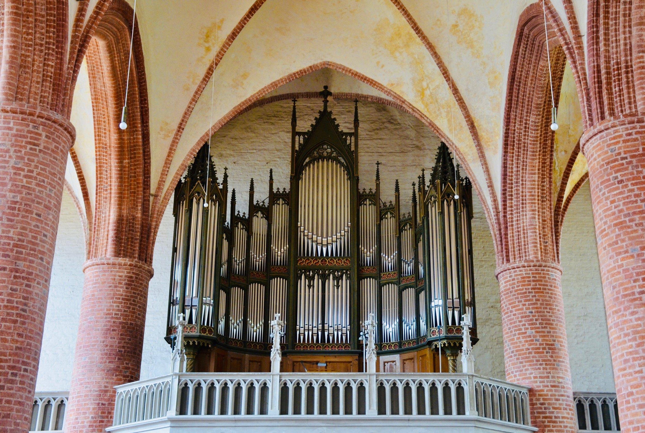 1867 Lütkemüller Organ, St. Petri-Kirche, Seehausen.