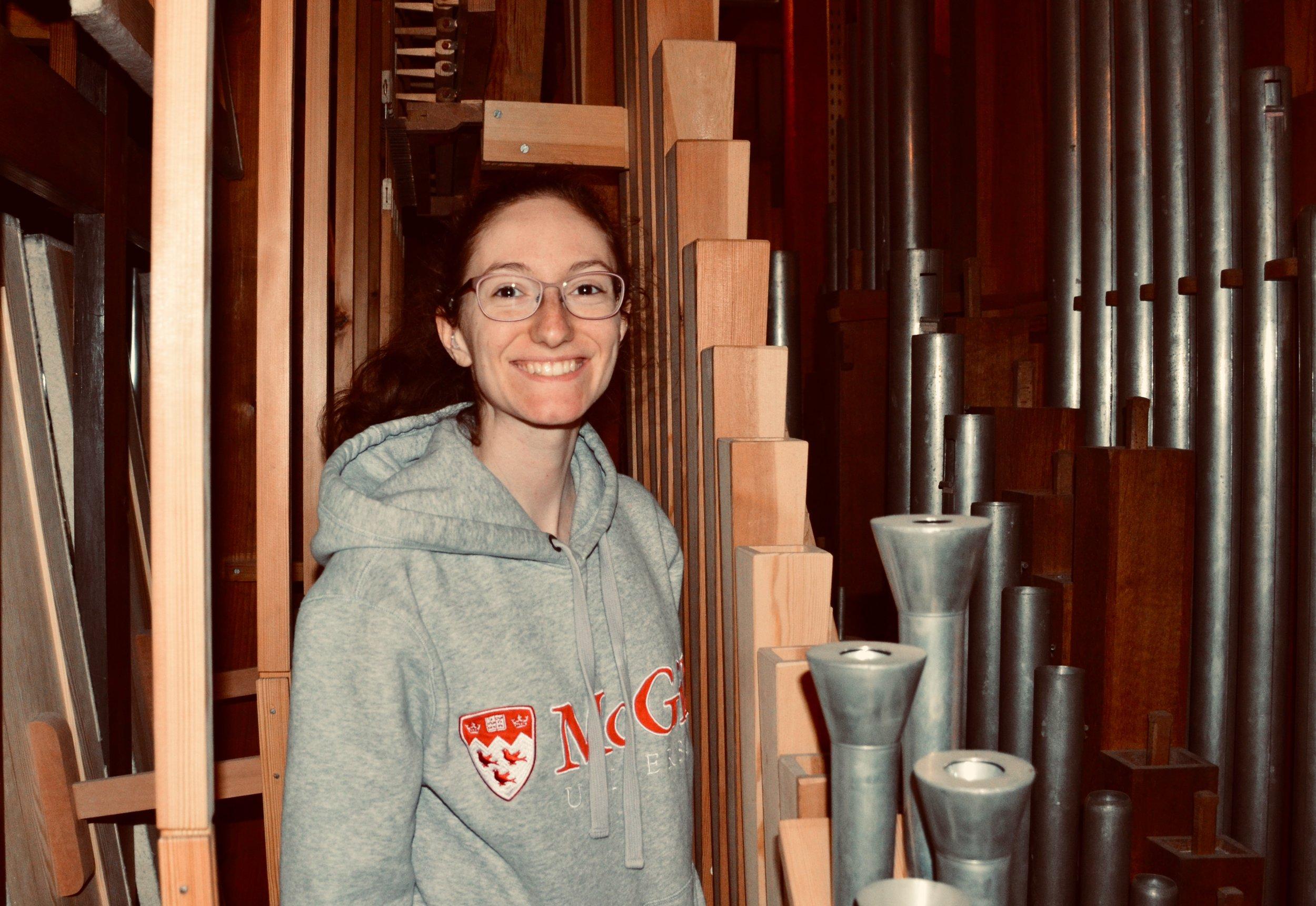 Rosemarie Tougas explores the 1867 Lütkemüller Organ, St. Petri-Kirche, Seehausen.