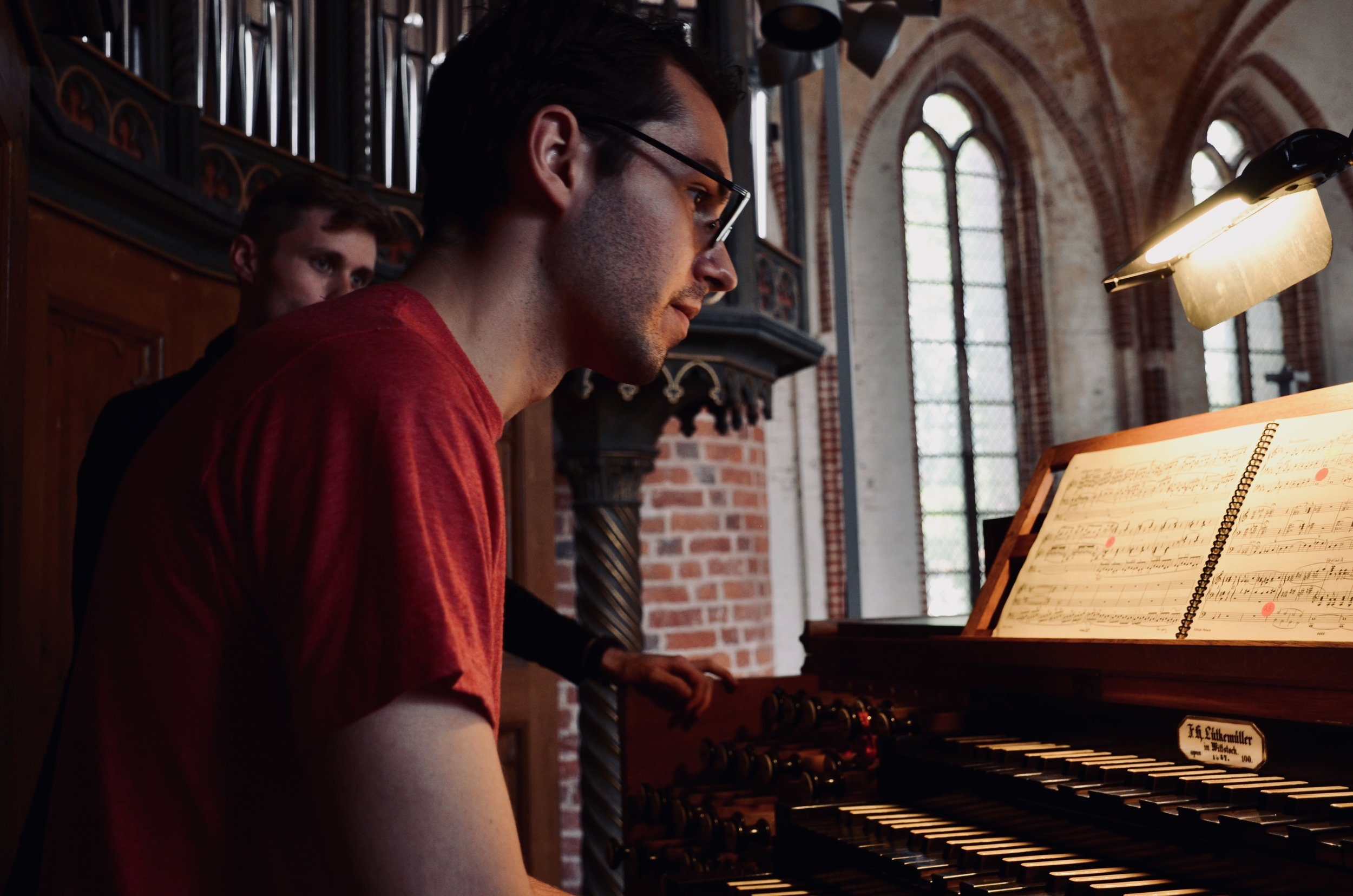 Nick Capozzoli plays the 1867 Lütkemüller Organ, St. Petri-Kirche, Seehausen.