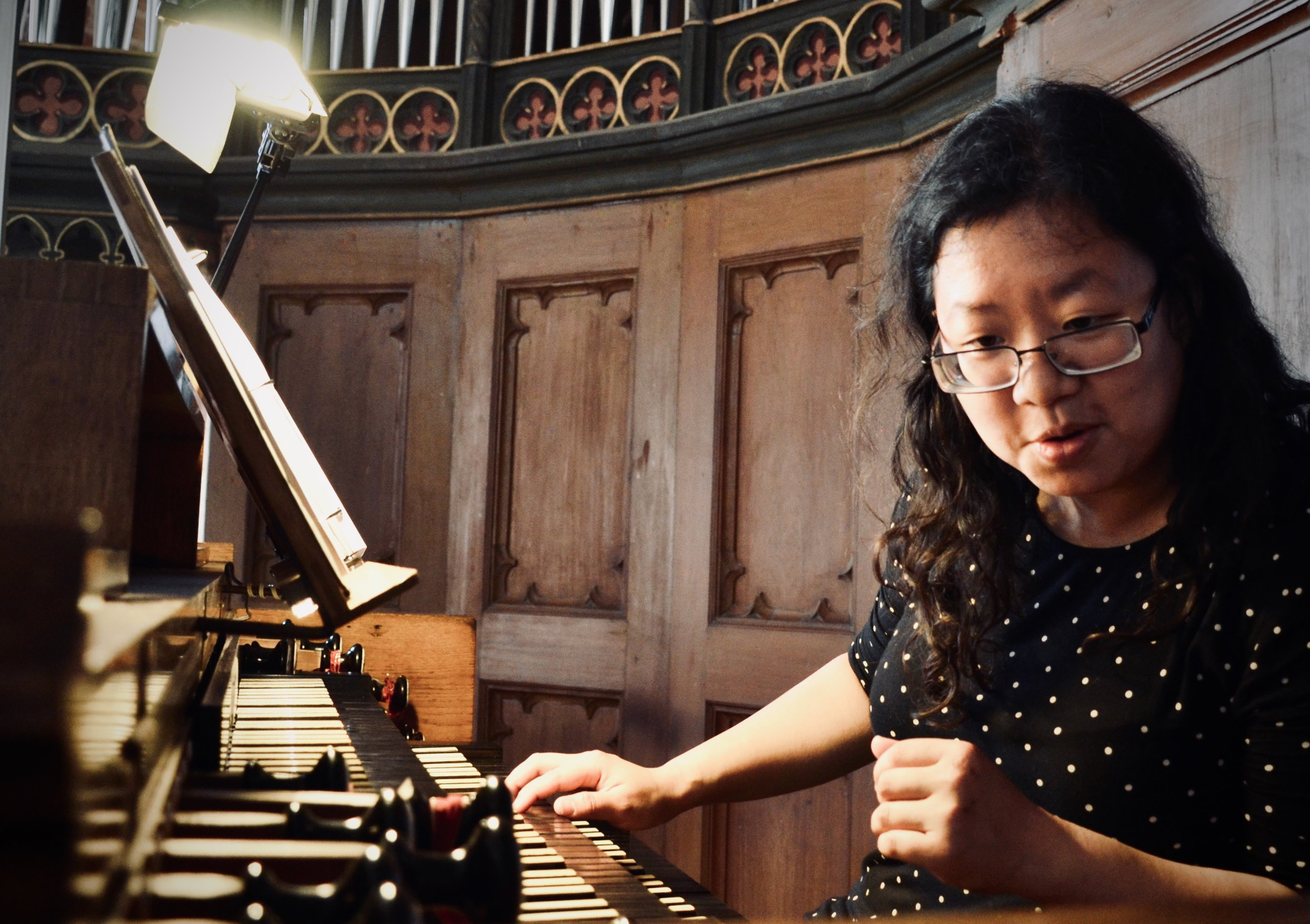 Jennifer Hsiao plays the 1867 Lütkemüller Organ, St. Petri-Kirche, Seehausen.