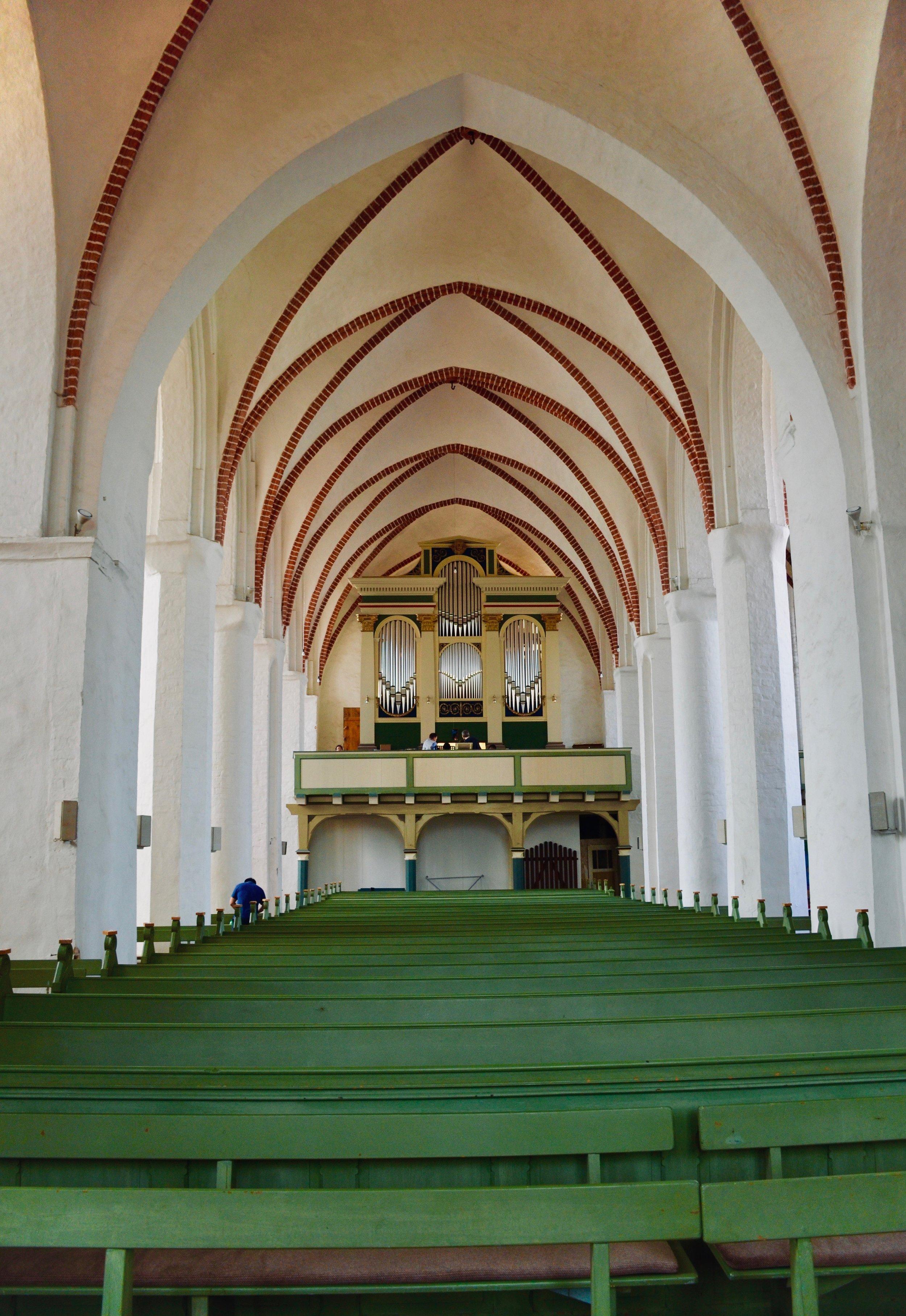 1825 Buchholz Organ in St. Nicolai-kirche, Osterburg.