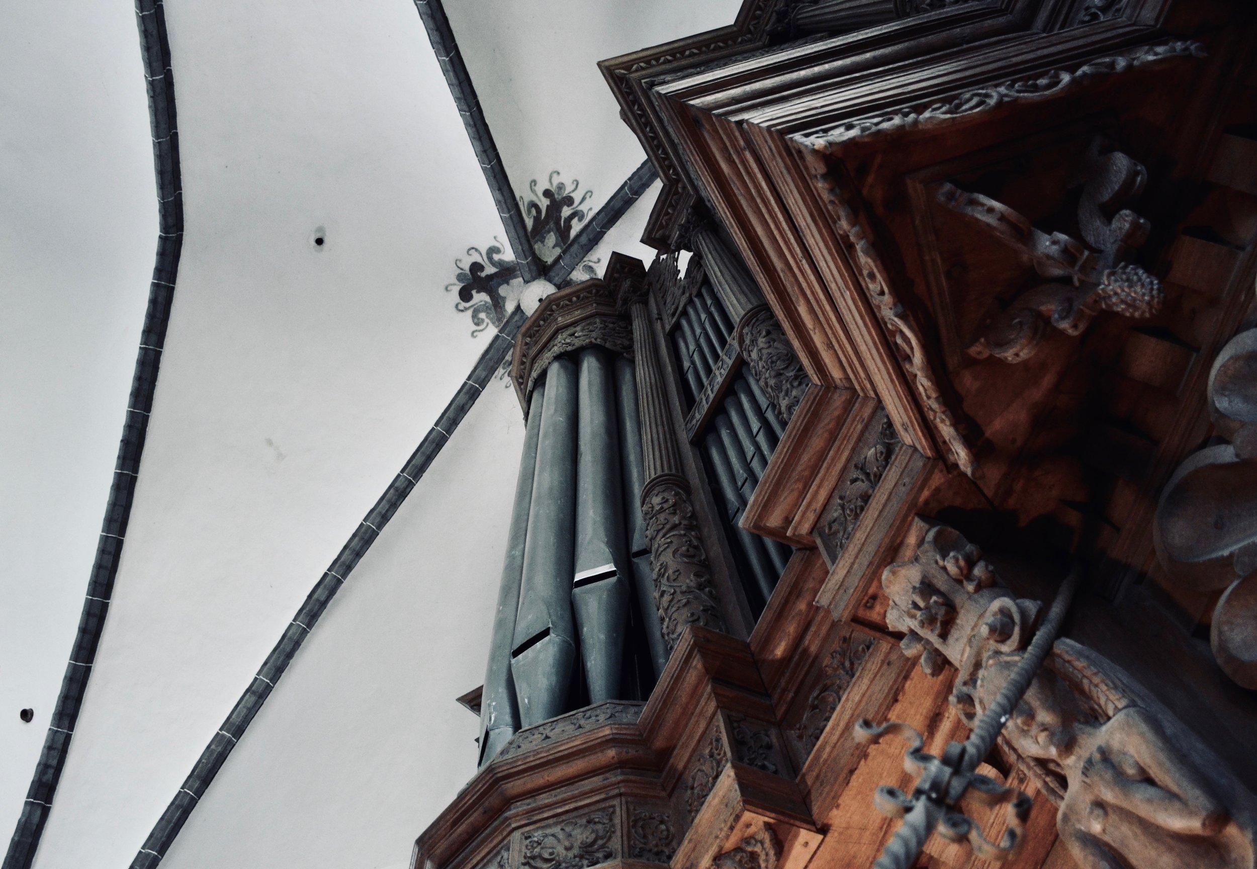 1624 Scherer Organ, St. Stephanskirche, Tangermünde.
