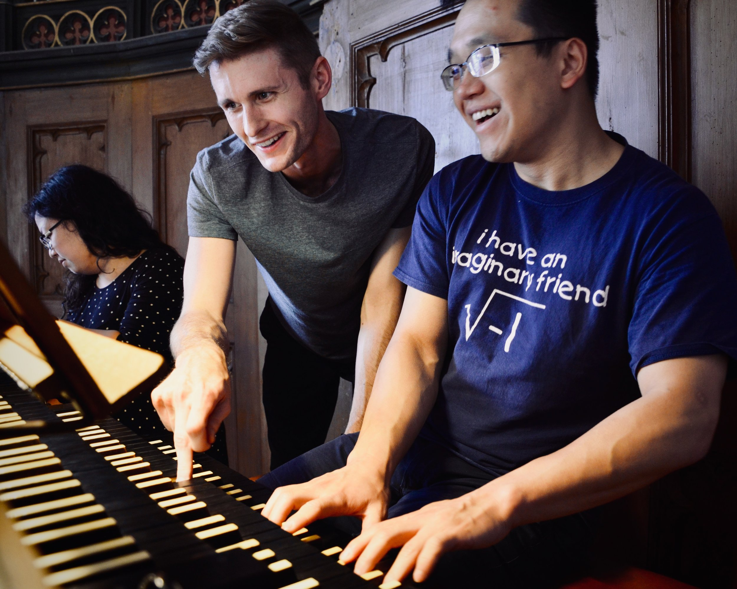 Adrian Cho and Evan Currie play the 1867 Lütkemüller Organ, Seehausen, Germany.