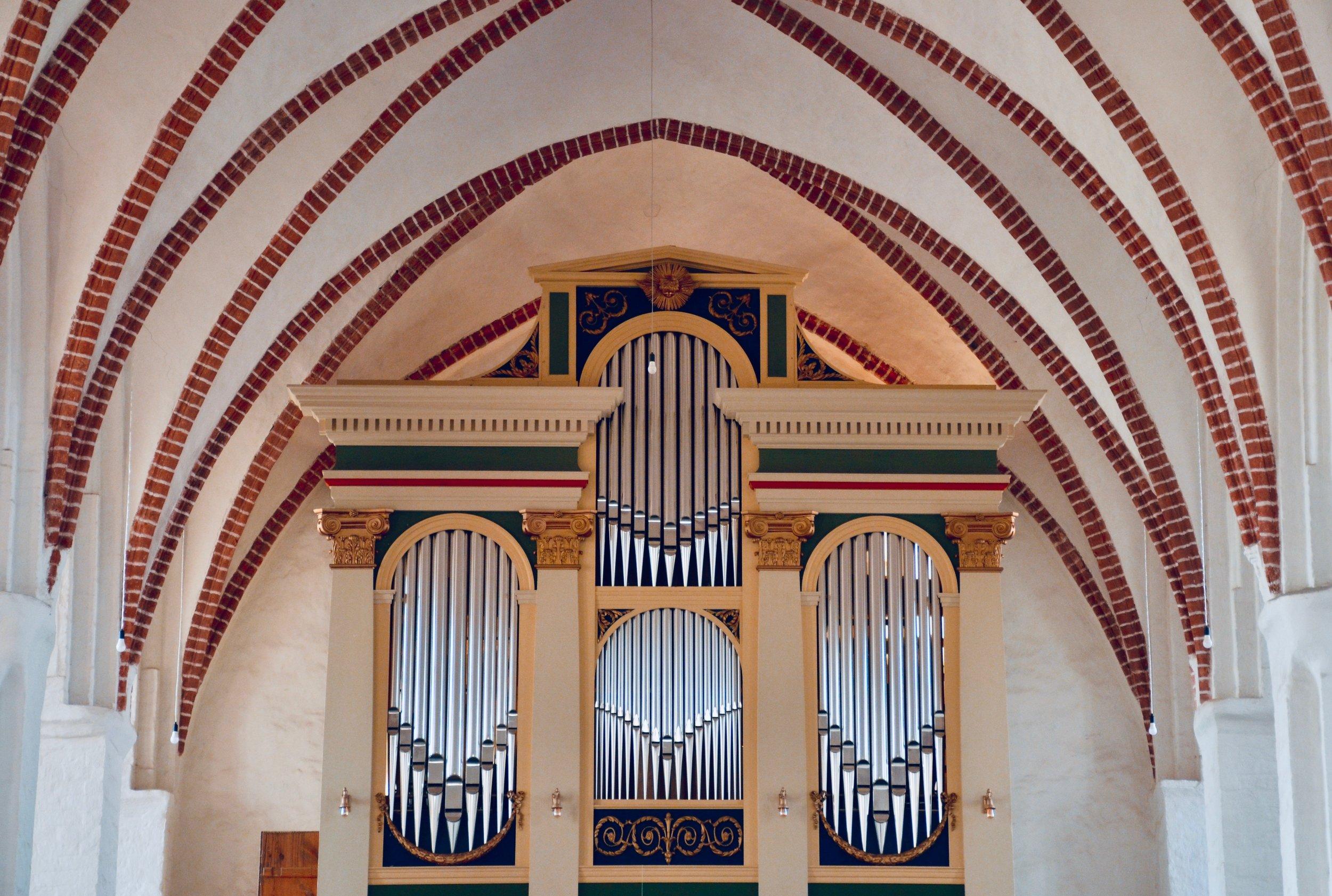 1825 Buchholz organ, St Nicolai, Osterburg.