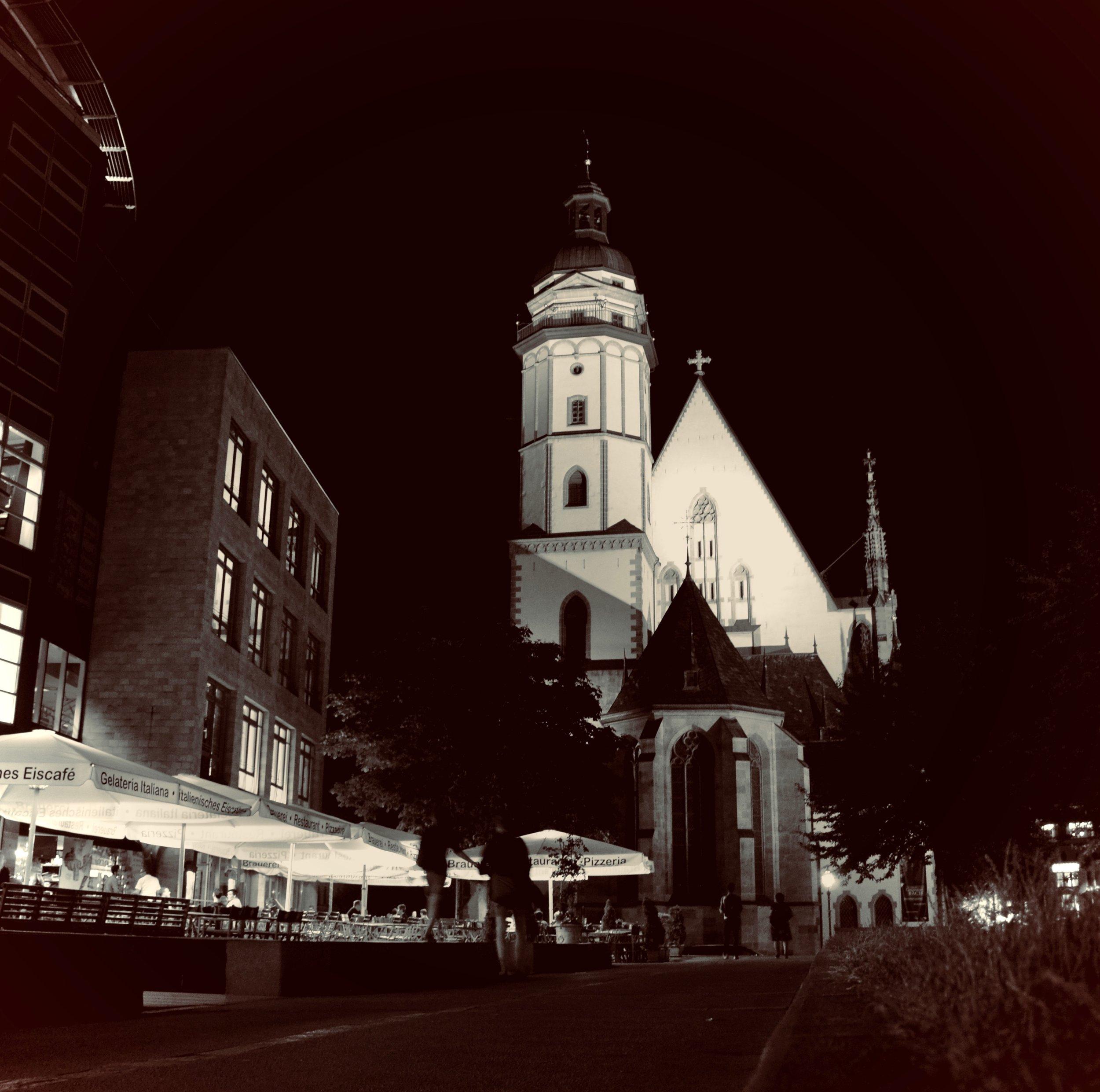 Thomaskirche, Leipzig.