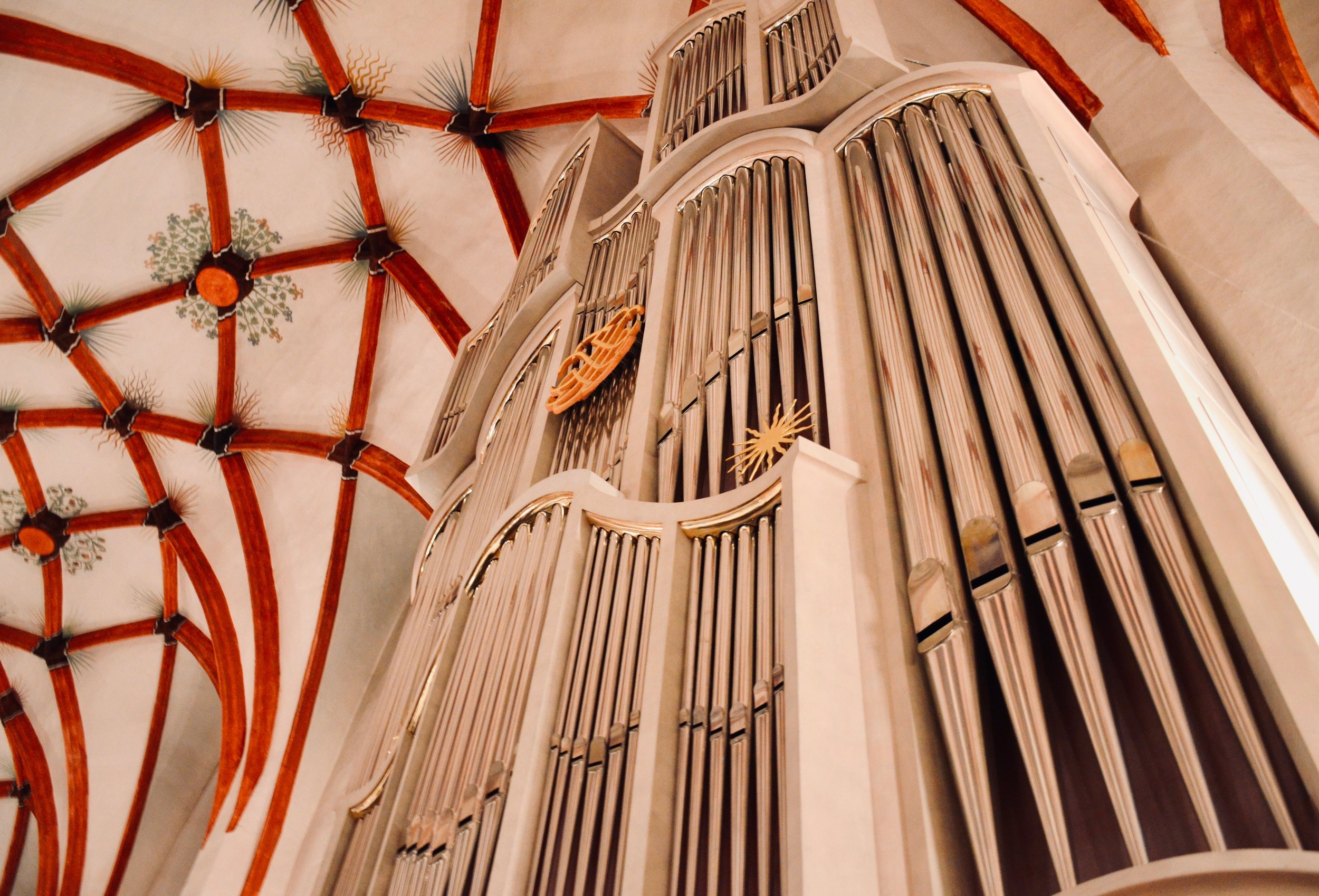 "The 2000 Woehl ""Bach Organ,"" Thomaskirche, Leipzig."