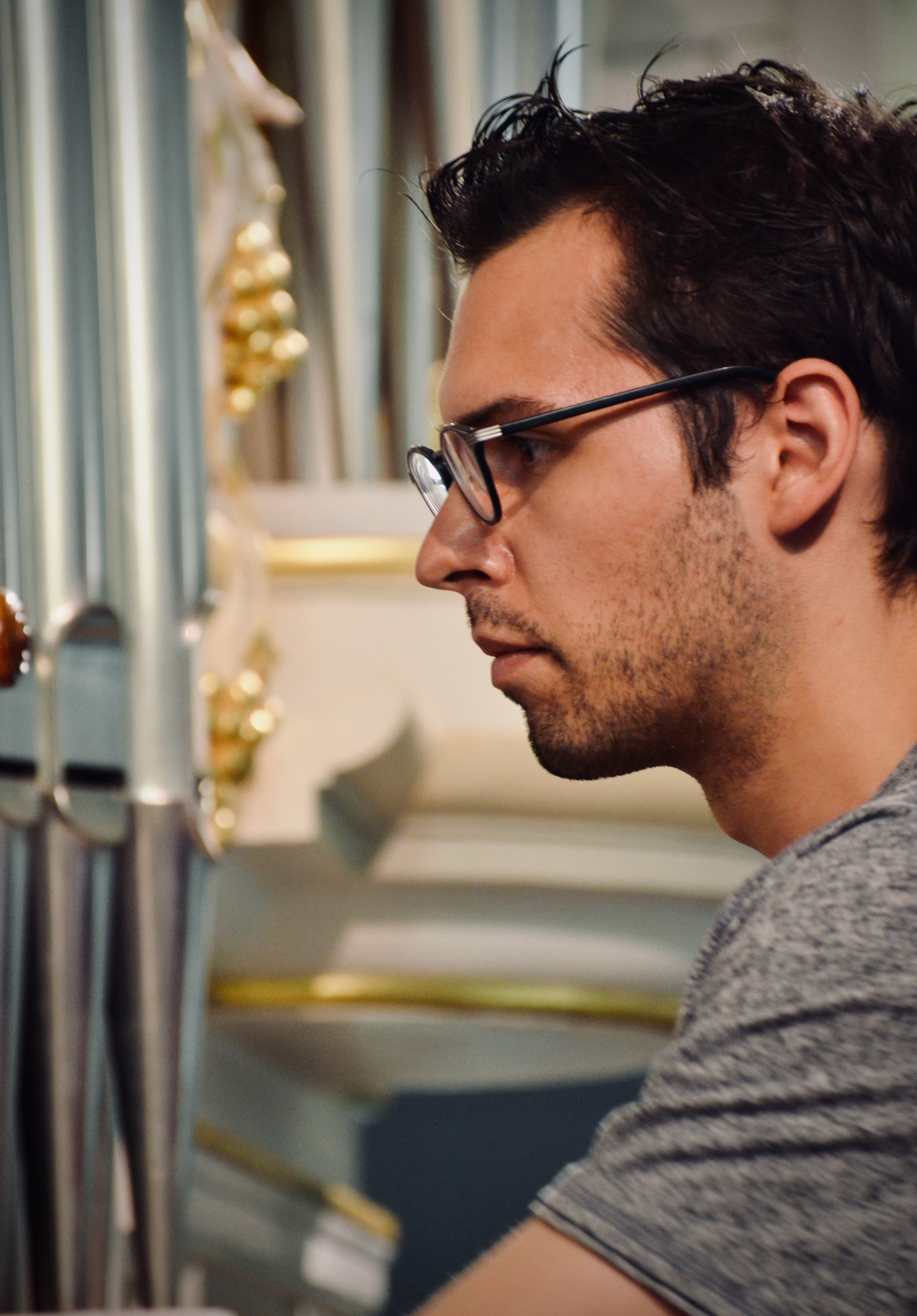 Nick Capozzoli plays the reconstructed Wender Organ (1703/2000) in Bachkirche, Arnstadt.
