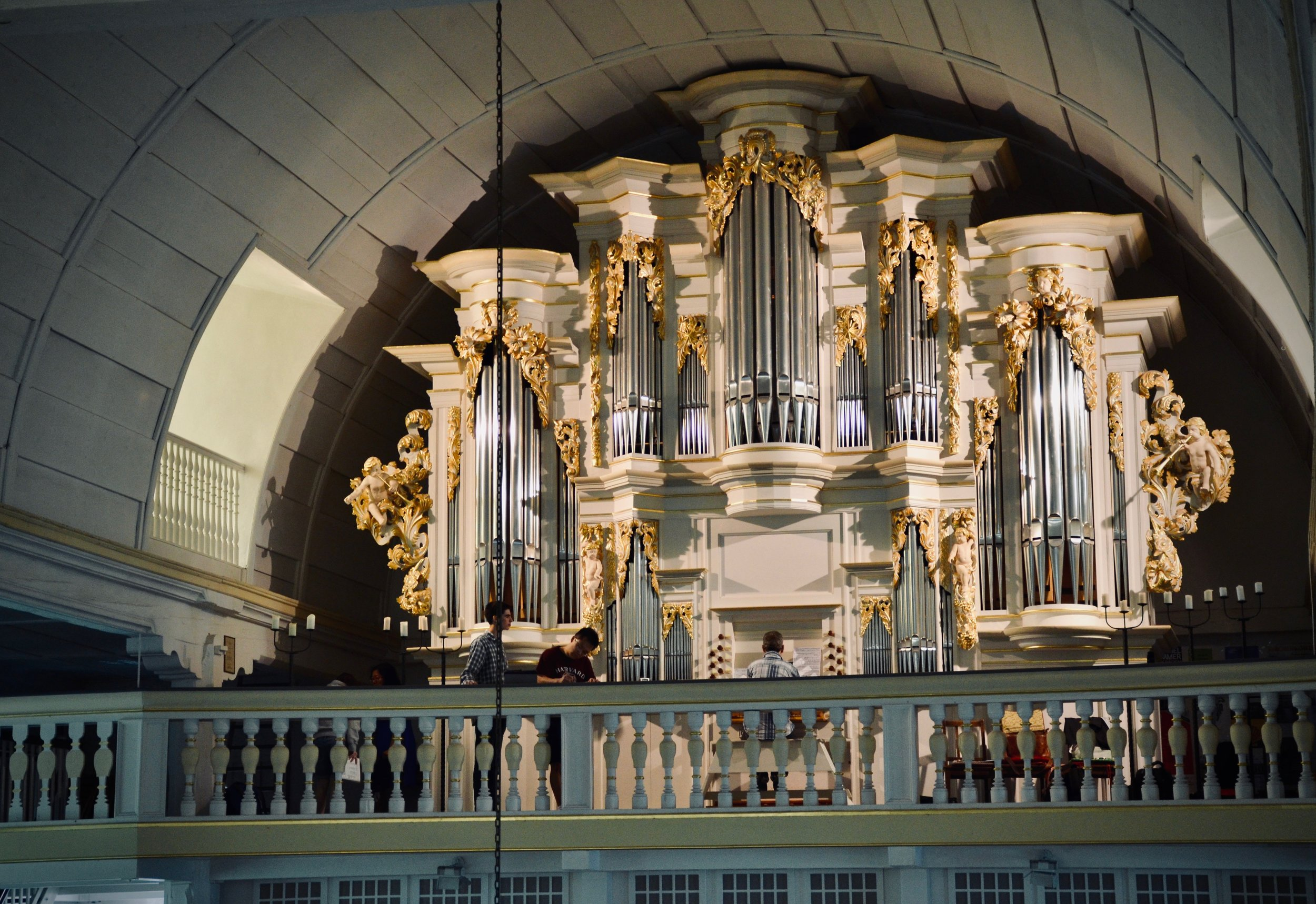 Chris Porter plays the reconstructed Wender Organ (1703/2000) in Bachkirche, Arnstadt.