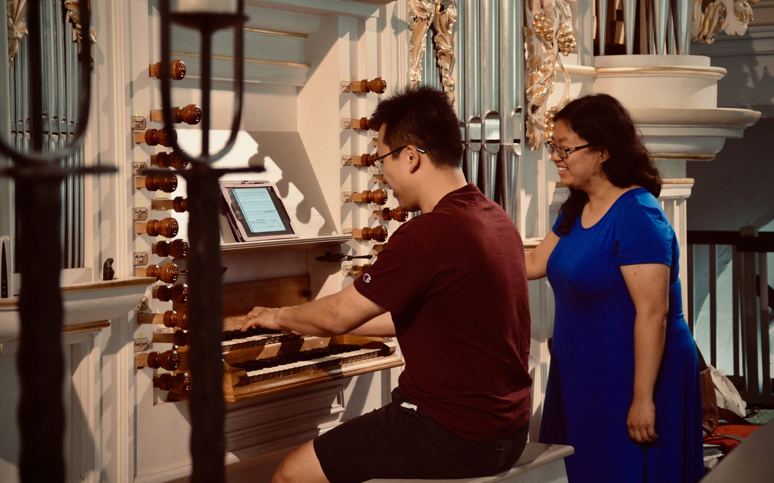 Adrian Cho plays the reconstructed Wender Organ (1703/2000) in Bachkirche, Arnstadt.