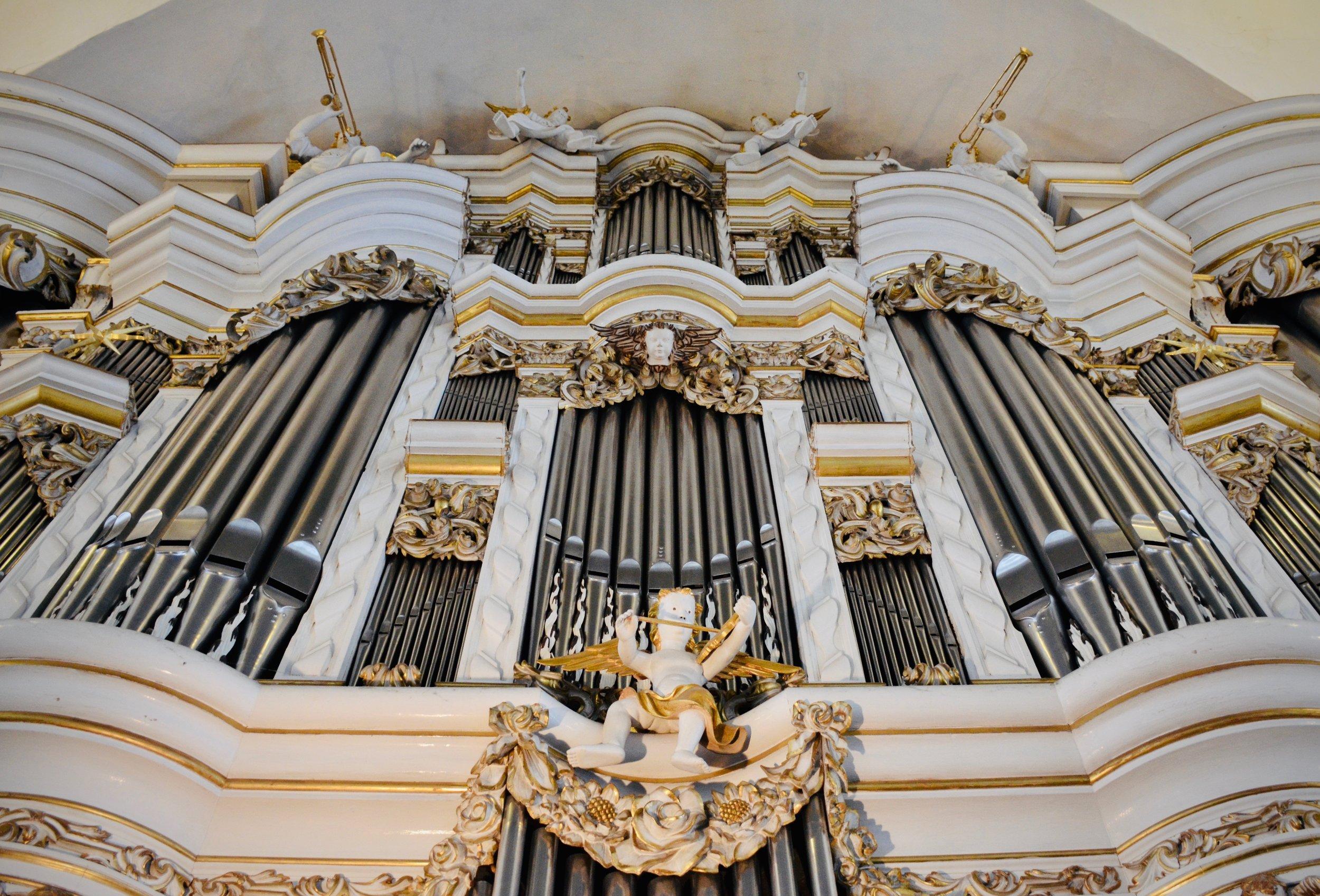 1730 Trost Organ, Stadtkirche, Waltershausen.