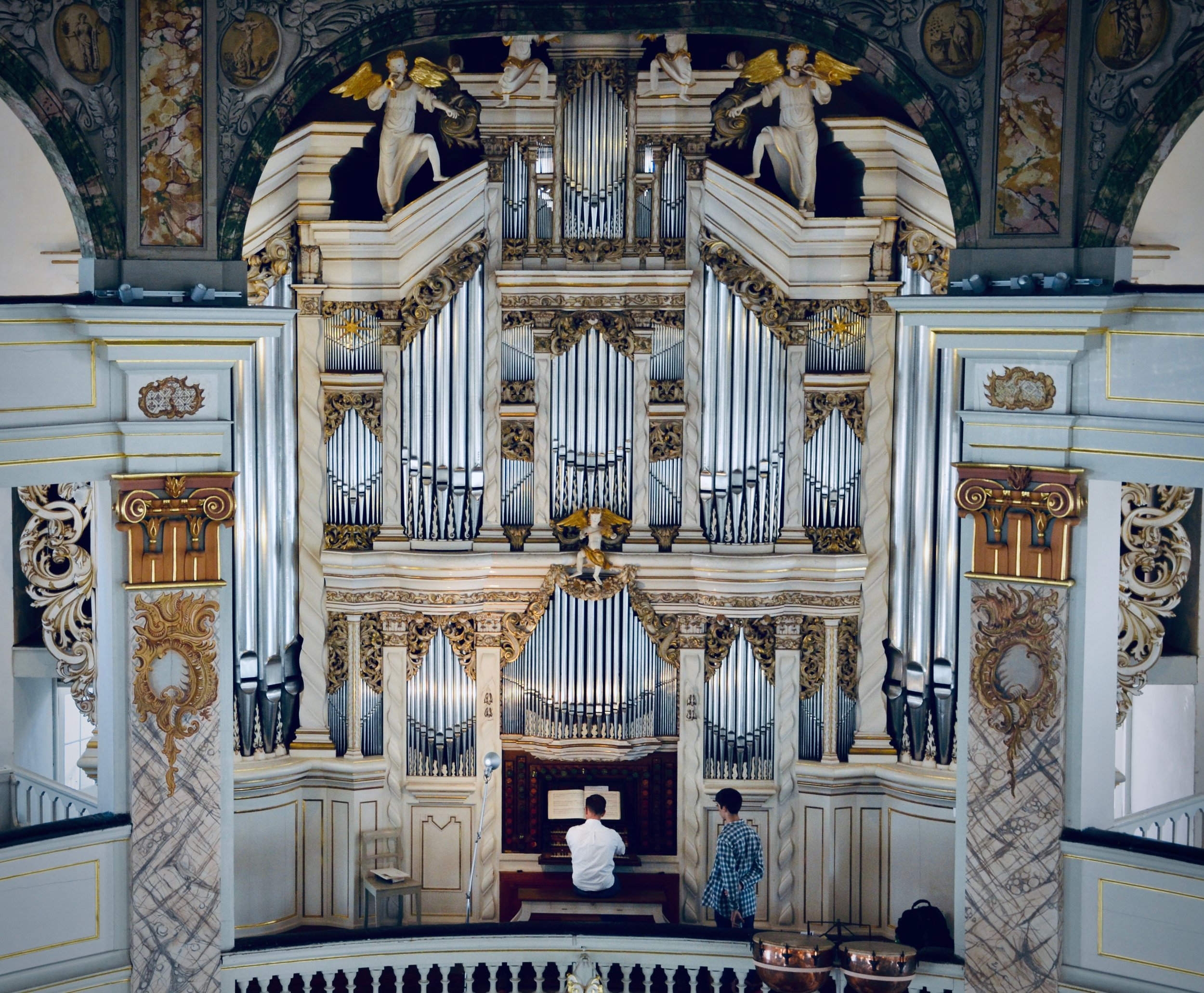 Christian Lane plays the 1730 Trost Organ, Stadtkirche, Waltershausen.
