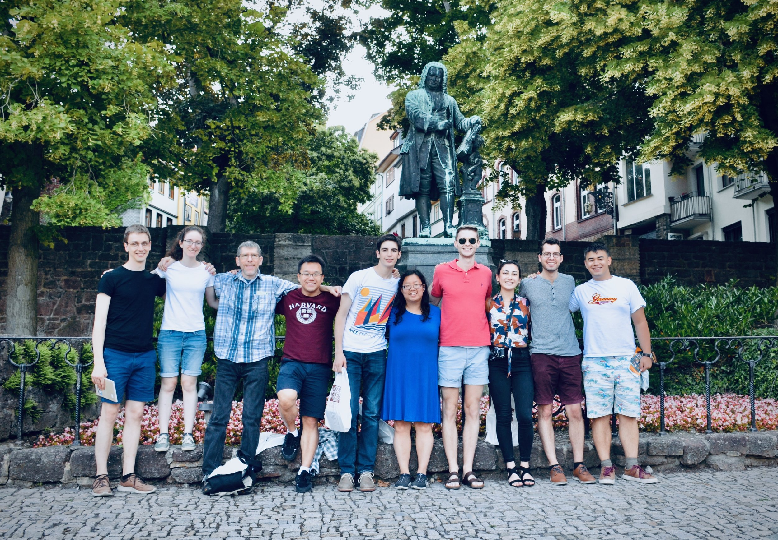 Members of Boston Organ Studio visit the Bachhaus Museum, Eisenach.