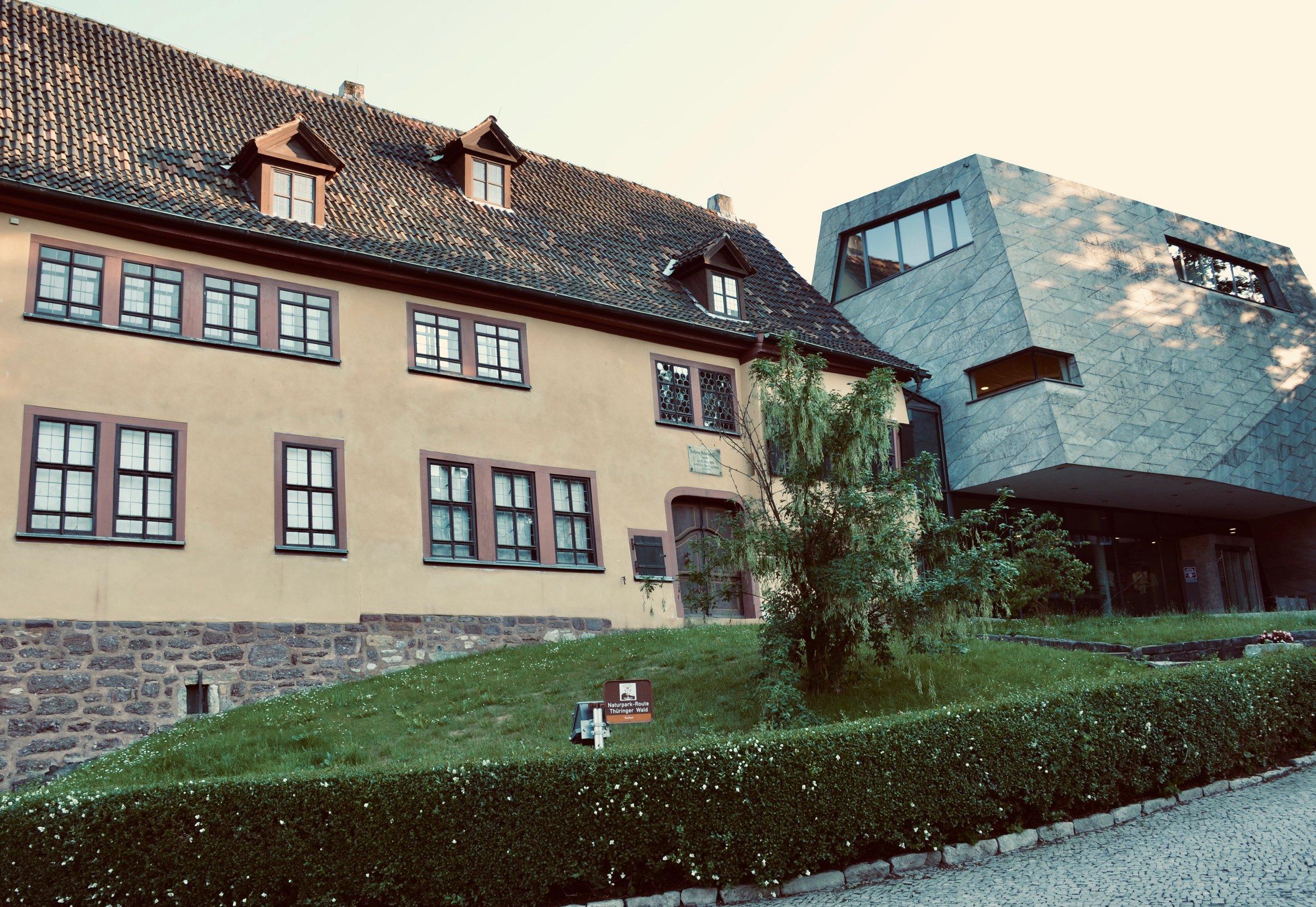 The Bachhaus Museum, Eisenach.