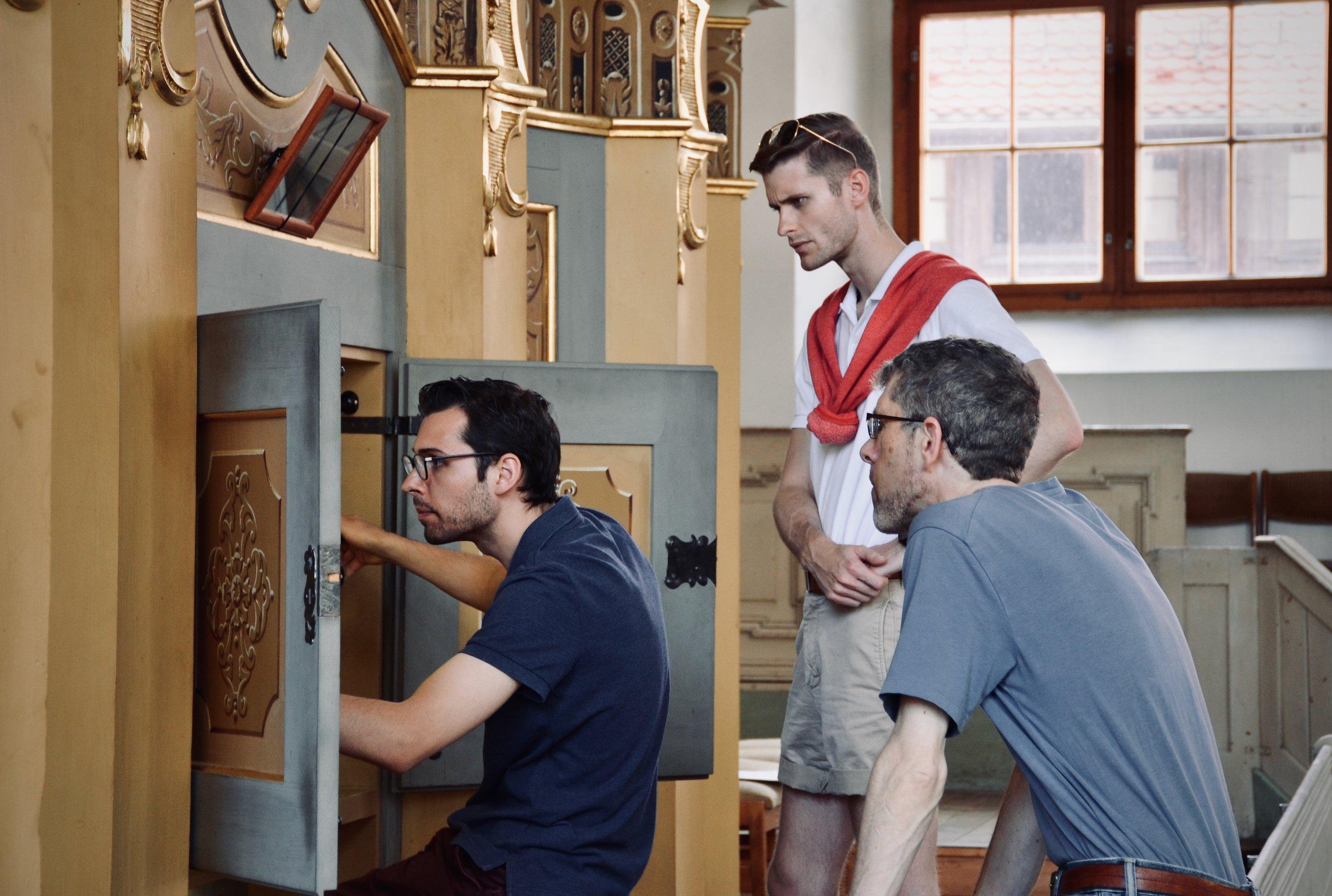 Nick Capozzoli plays the 1735 Gottfried Silbermann organ, St. Petrikirche, Freiberg.