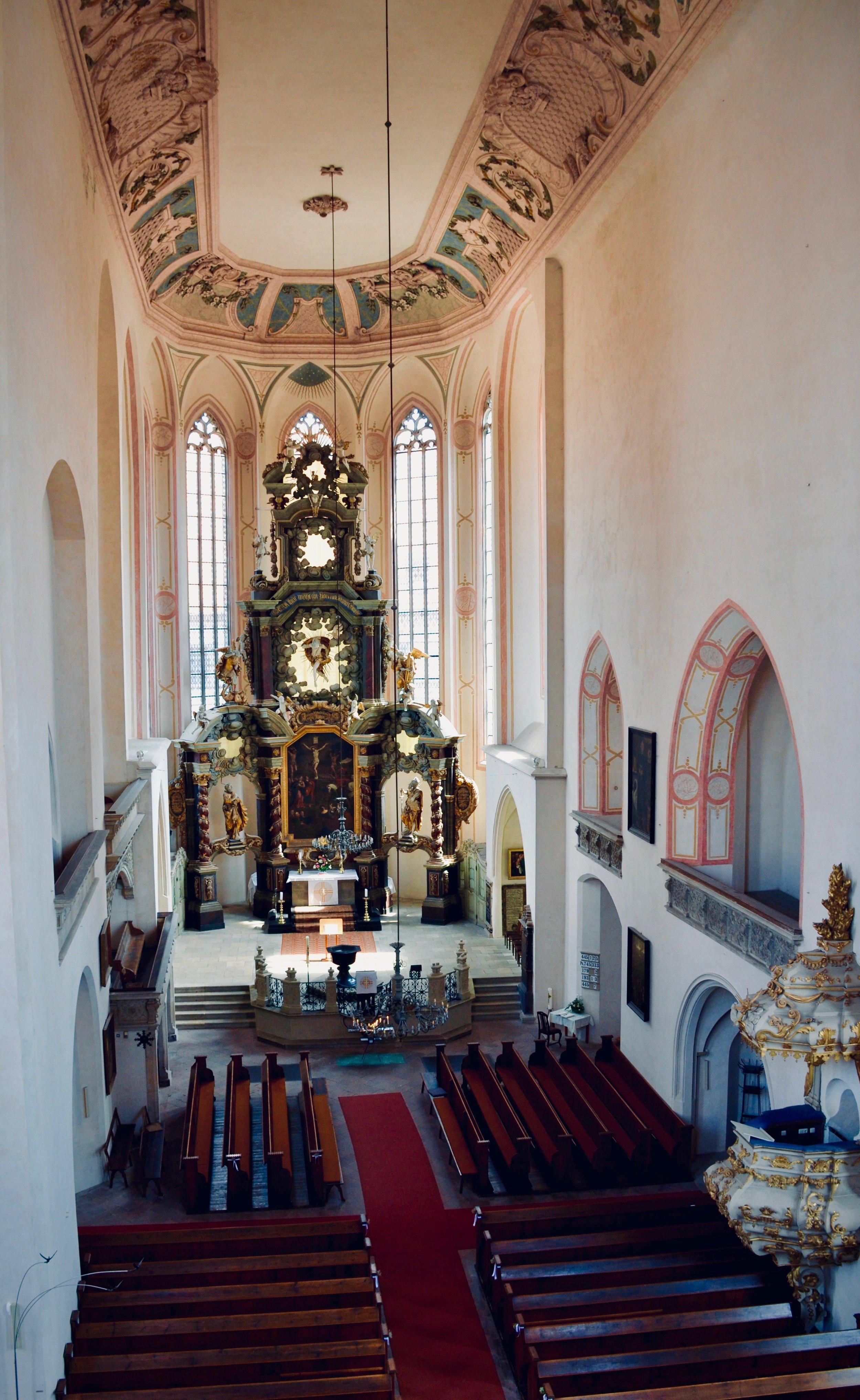 Stadtkirche St. Wenzel, Naumburg.