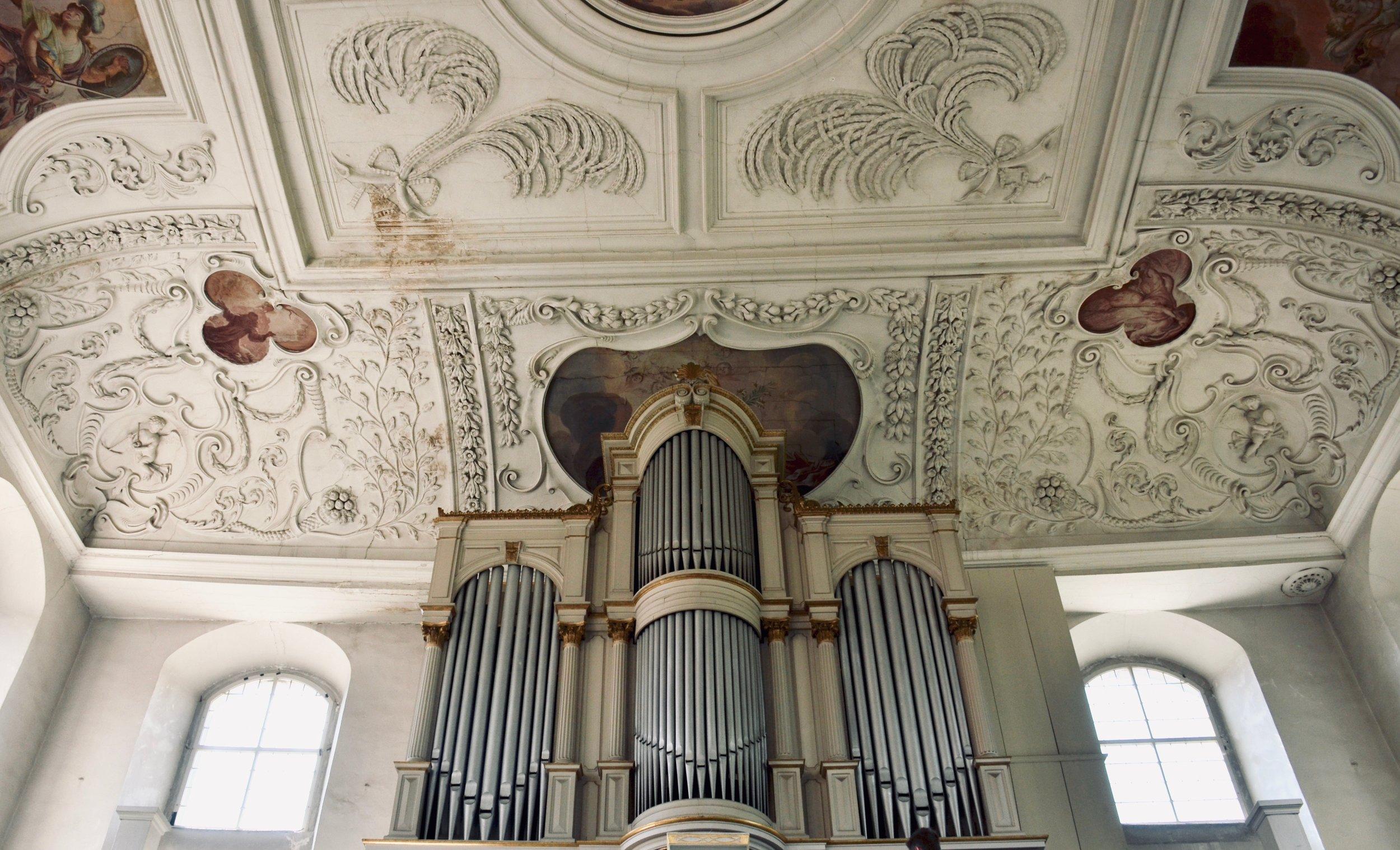 1869 Ladegast Organ, Marien-Magdalenen-Kirche, Naumburg.